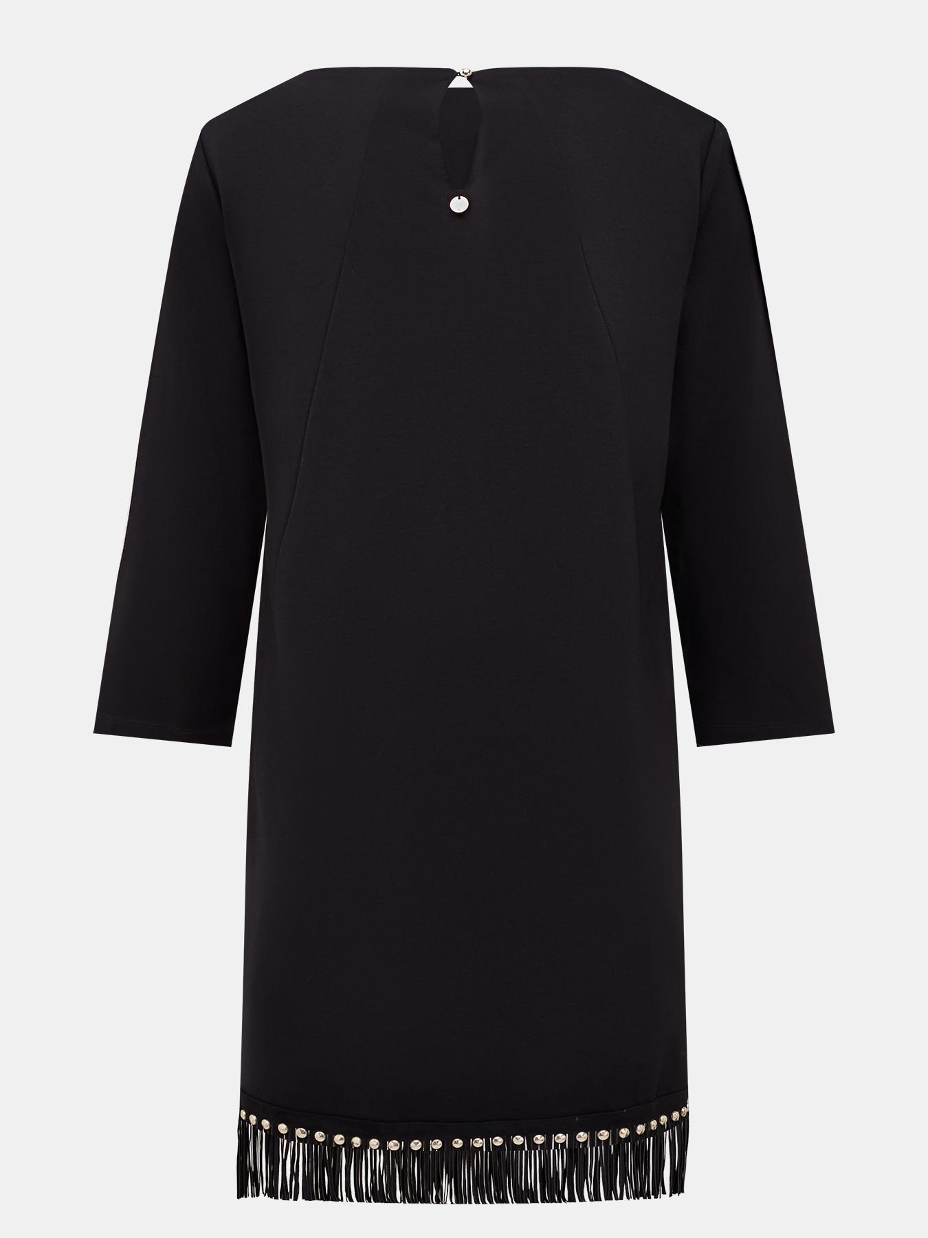 Платье Liu Jo Платье шифоновое платье прямого кроя liu jo
