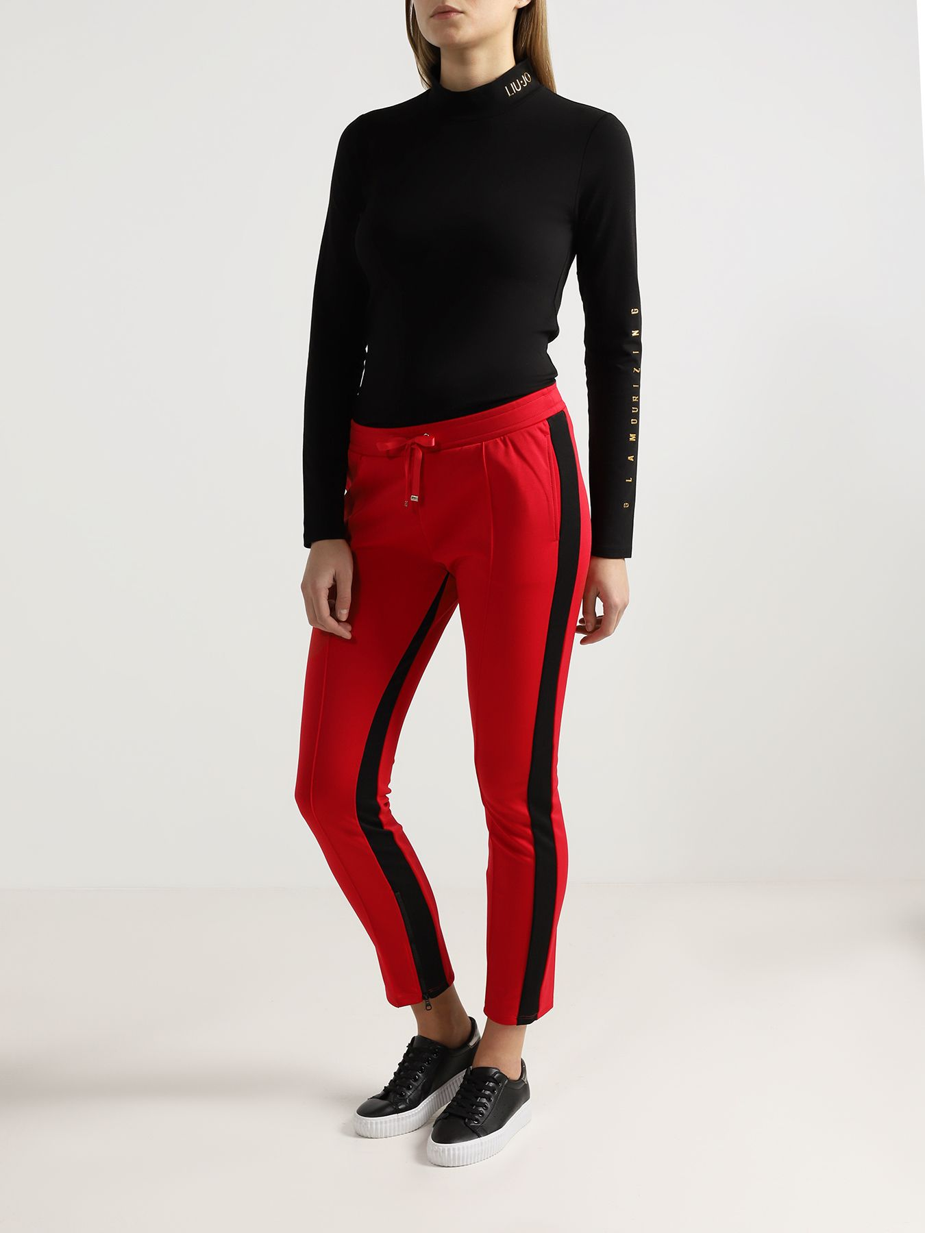 Брюки Liu Jo Sport Узкие брюки брюки узкие cassis