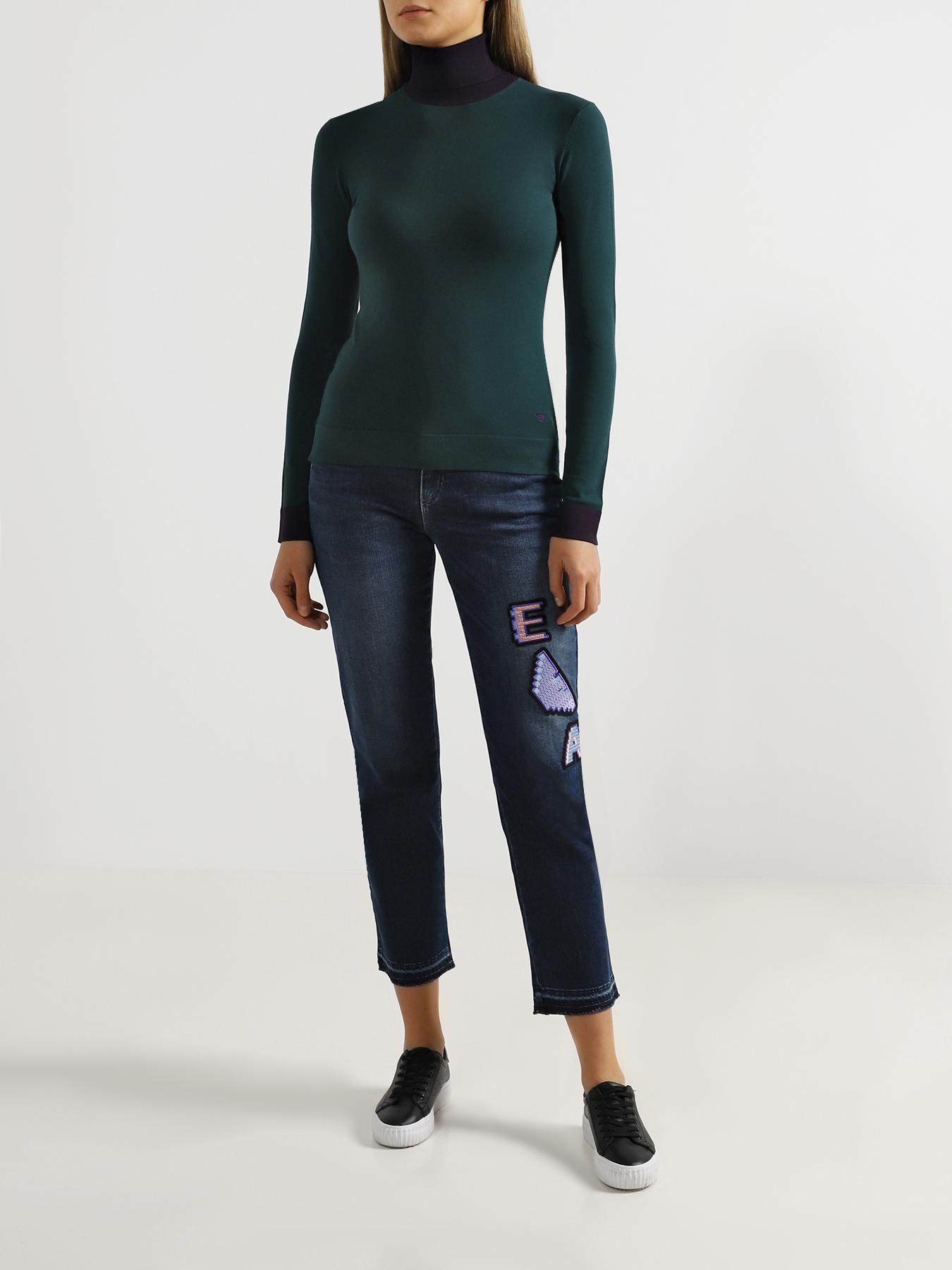 Брюки Emporio Armani Укороченные джинсы J15 джинсы lime укороченные джинсы