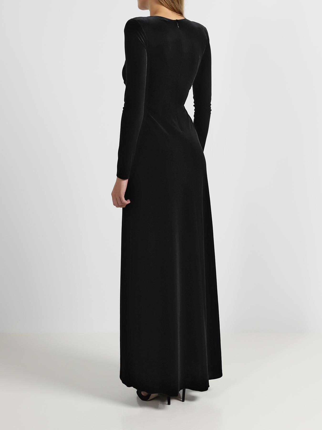 Платье Emporio Armani Платье-макси cyrille gassiline черное платье макси