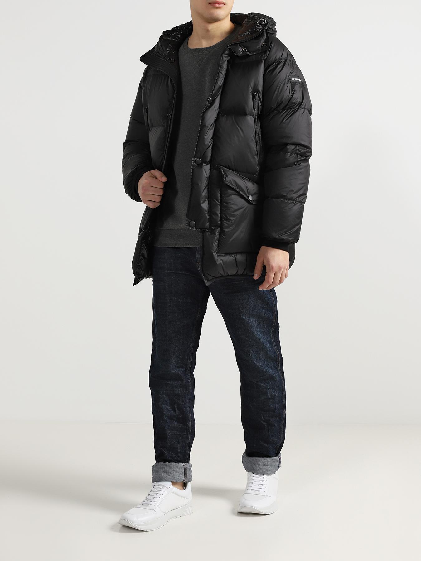 Куртка Emporio Armani Мужской пуховик пуховик мужской e jiaku e18 2014