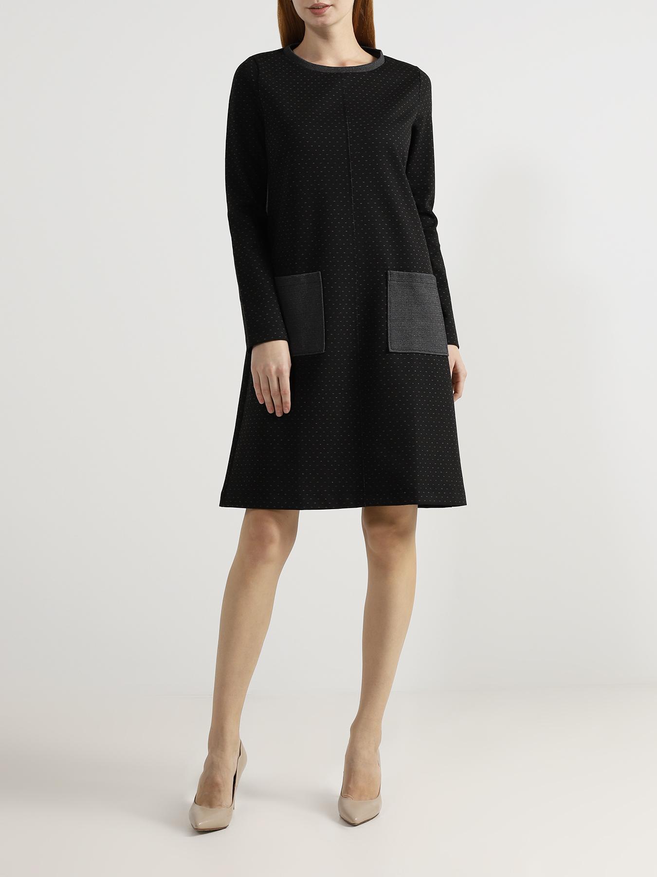 Платье Zanetti Платье с карманами свободное платье с 2 мя карманами yarmina