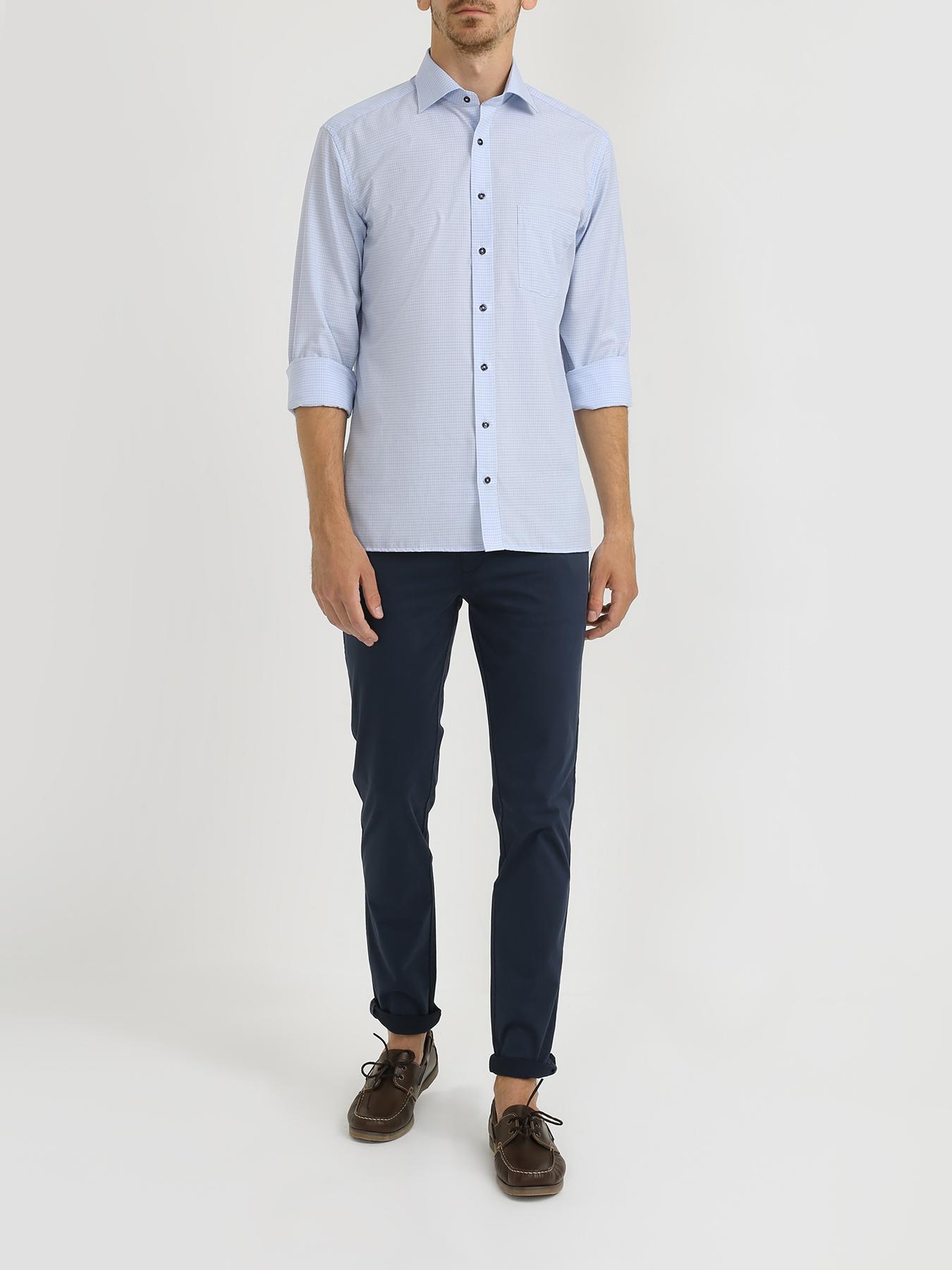 Фото - Рубашка Eterna Хлопковая рубашка с карманом рубашка lime рубашка с карманом