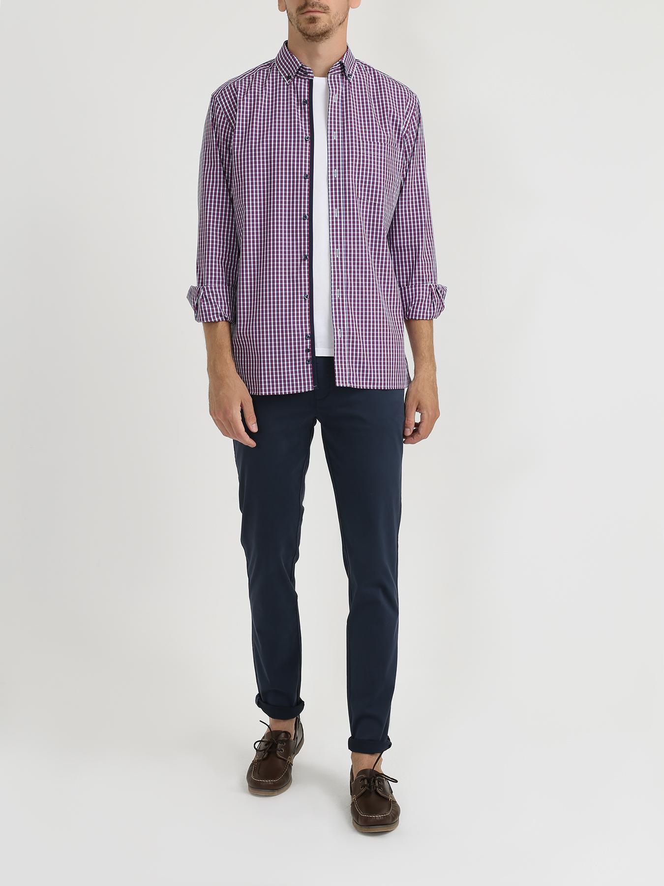 Рубашка Eterna Хлопковая рубашка с карманом