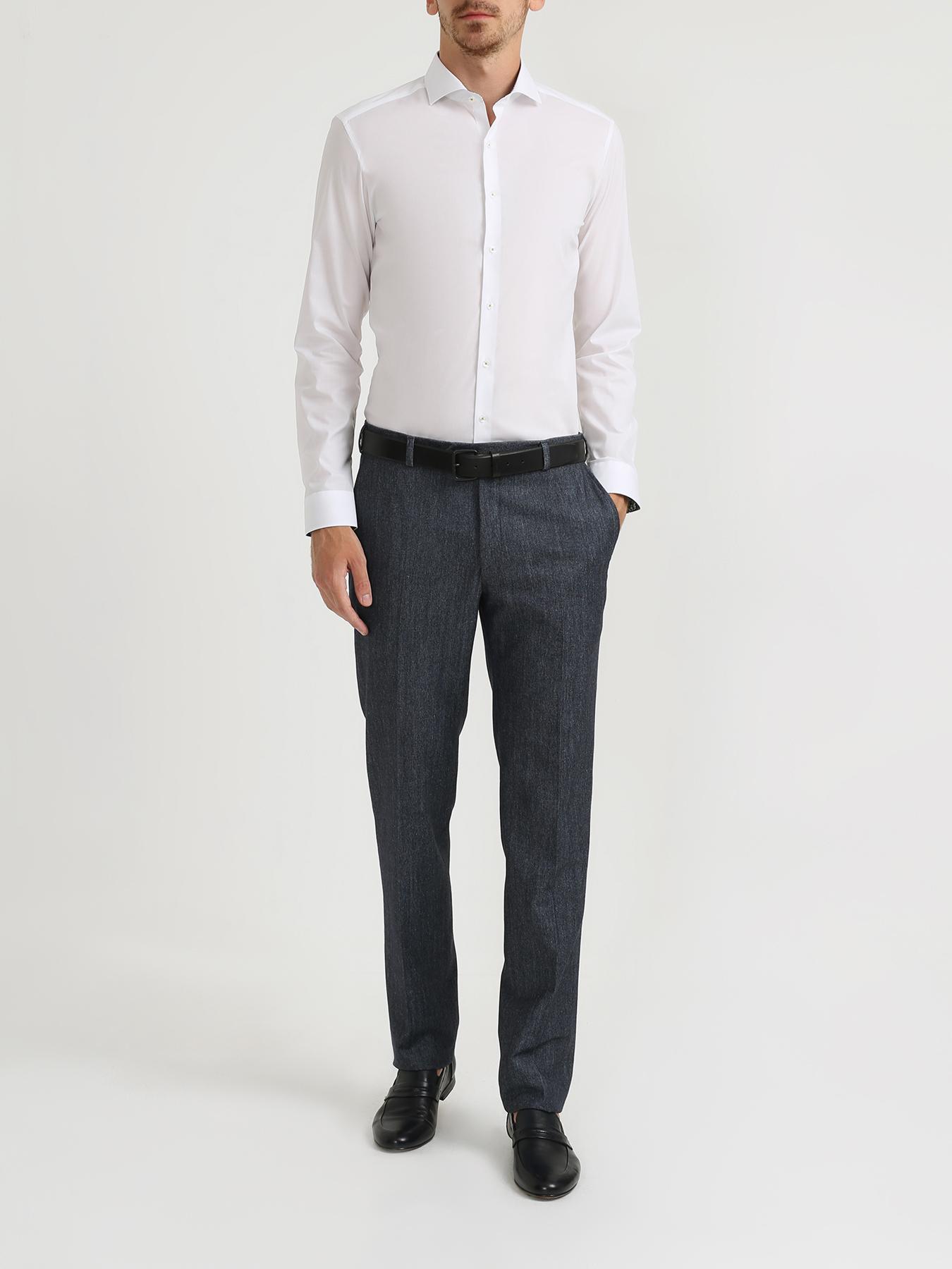 Рубашка Eterna Хлопковая рубашка с длинным рукавом