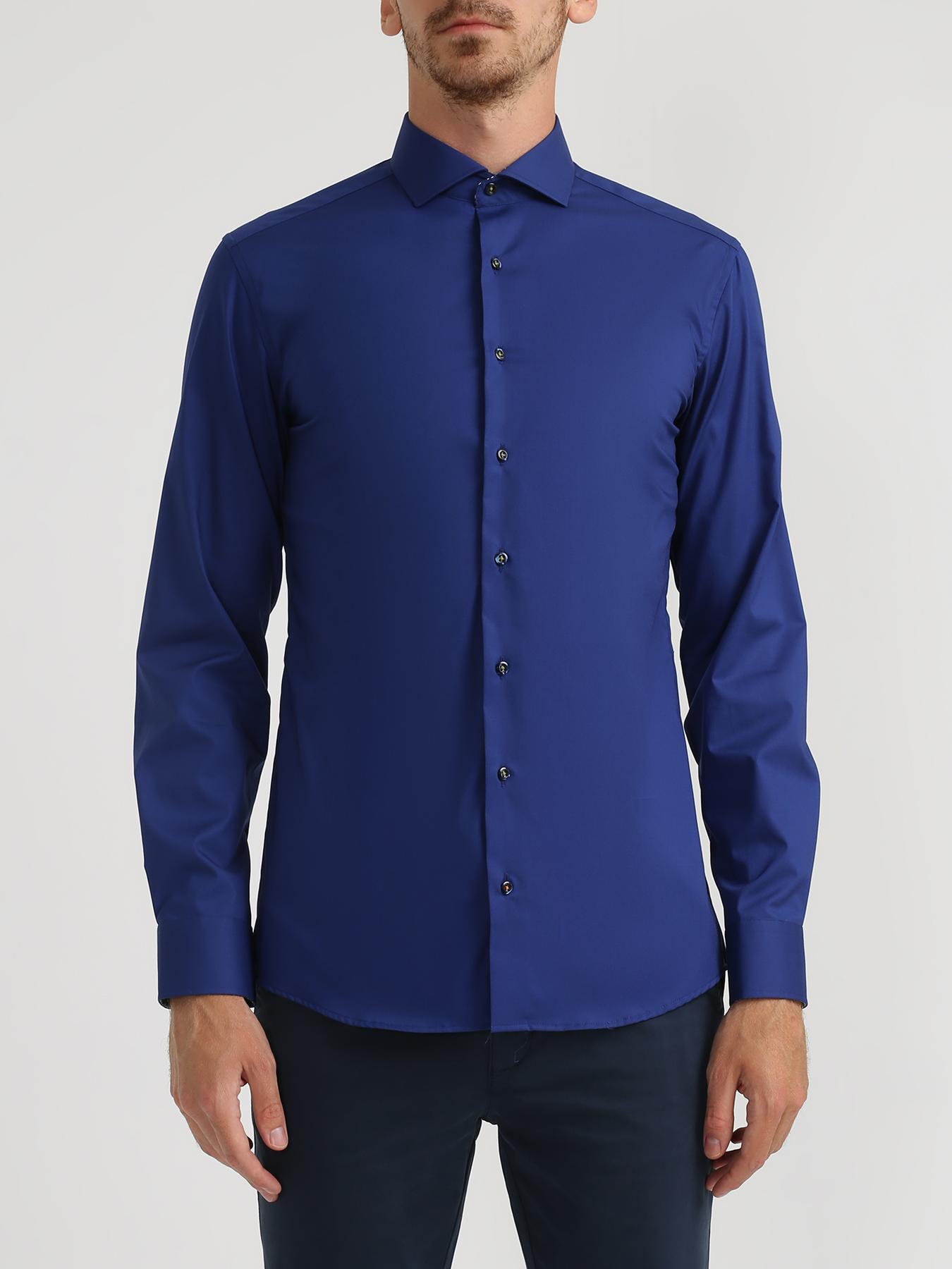 Рубашки Eterna Хлопковая рубашка с длинным рукавом