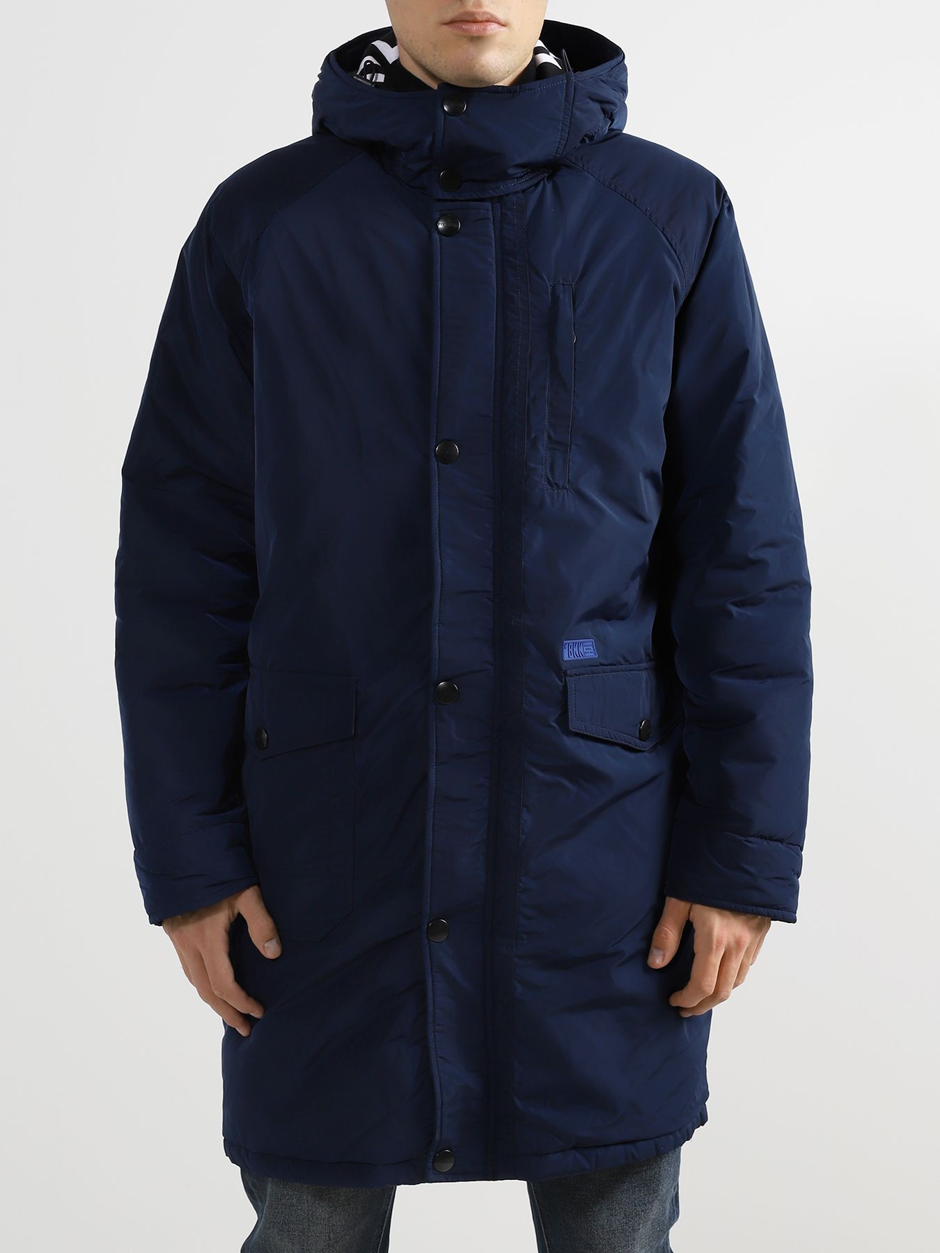 Пуховики Bikkembergs Удлиненная куртка