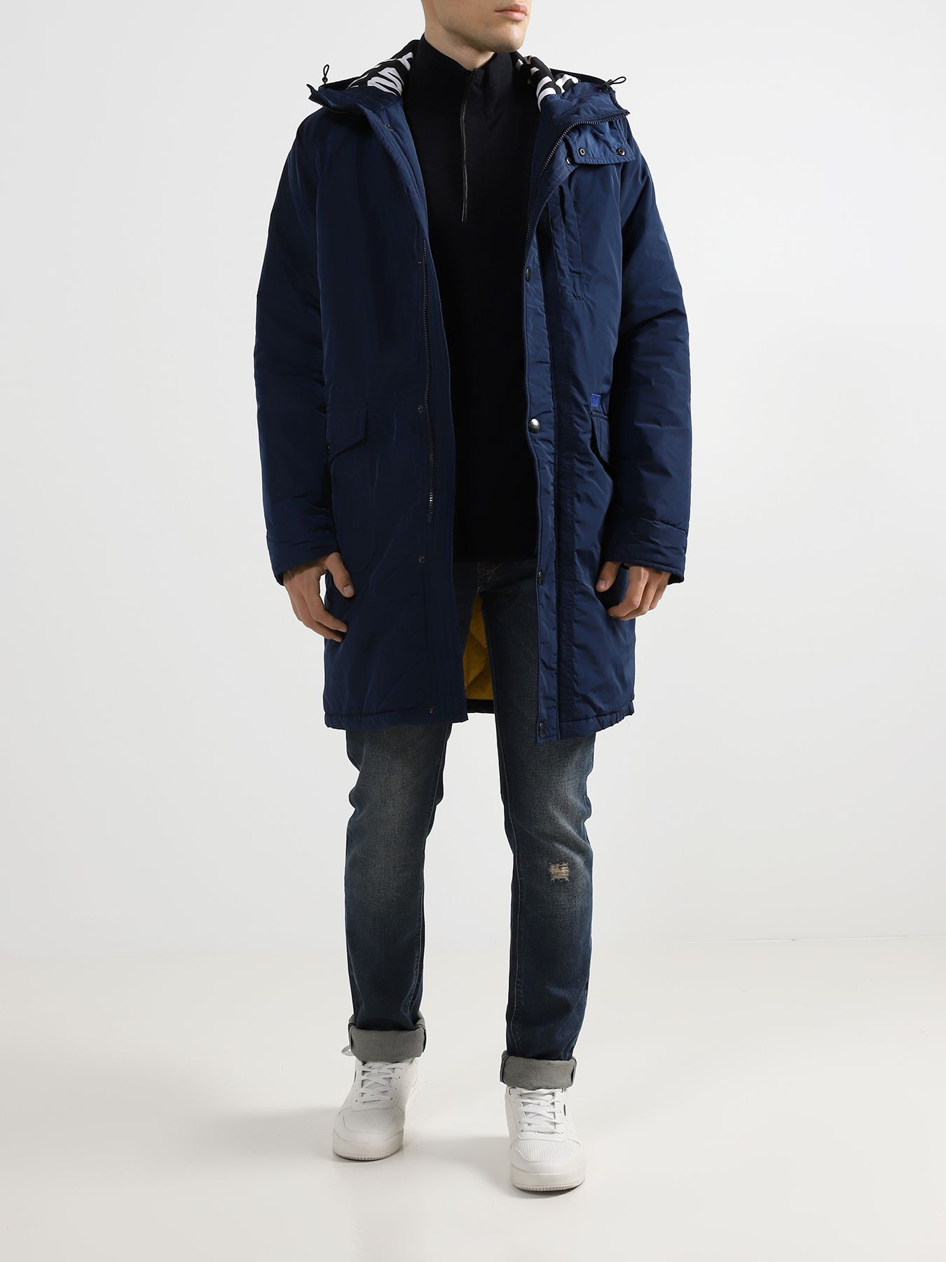 Куртка Bikkembergs Удлиненная куртка