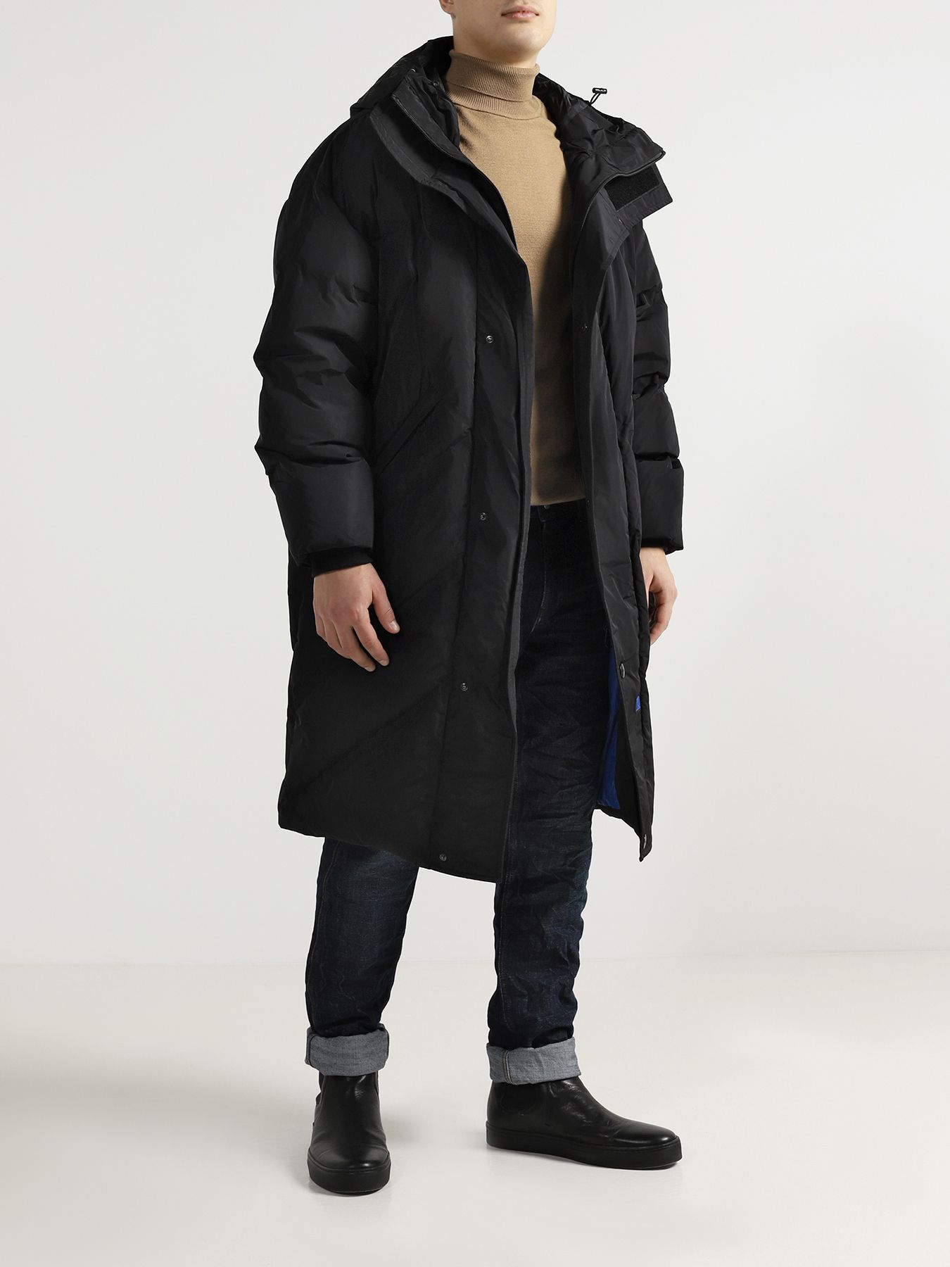 Фото - Куртка Bikkembergs Удлиненная куртка sinobi 1178
