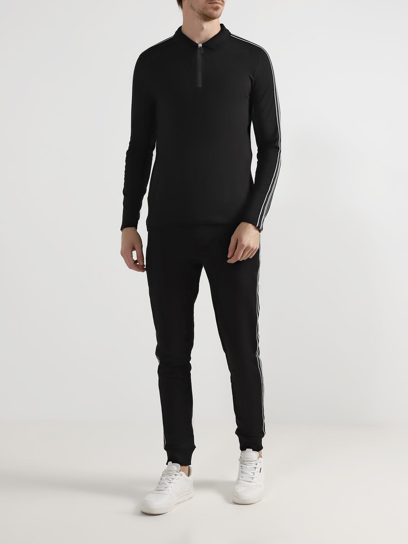 Рубашка с воротом поло Bikkembergs Поло с длинным рукавом