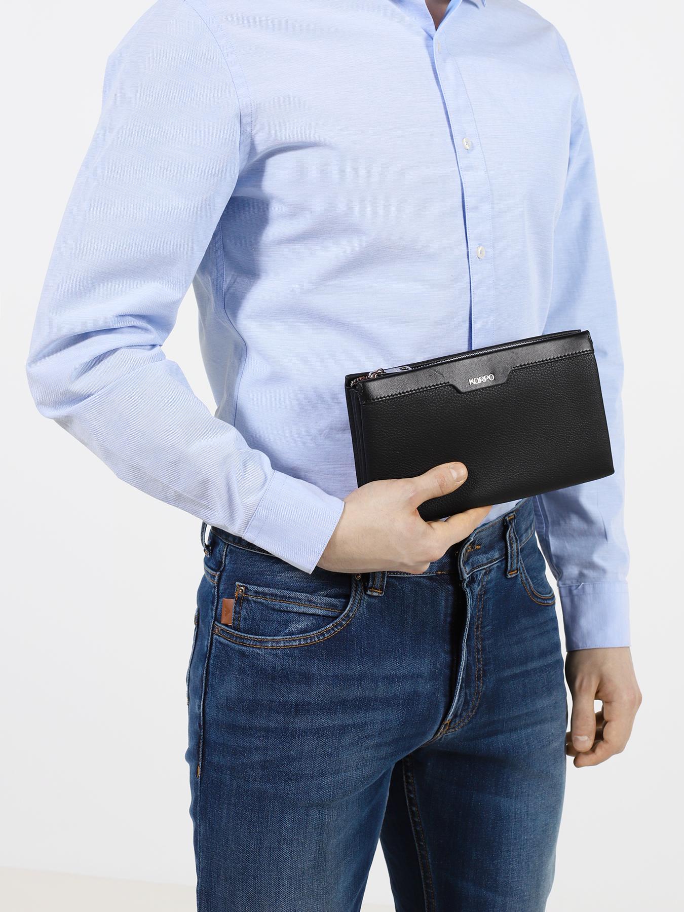 Фото - Портмоне Korpo Портмоне портмоне indigo jeans 533 синее