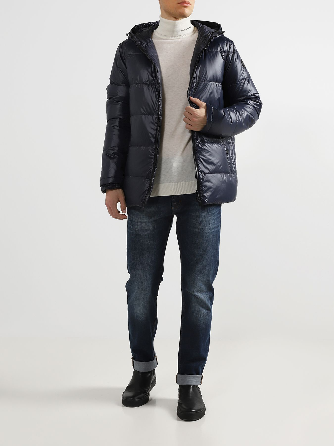 Куртка Karl Lagerfeld Двусторонняя куртка куртка karl lagerfeld стеганая куртка