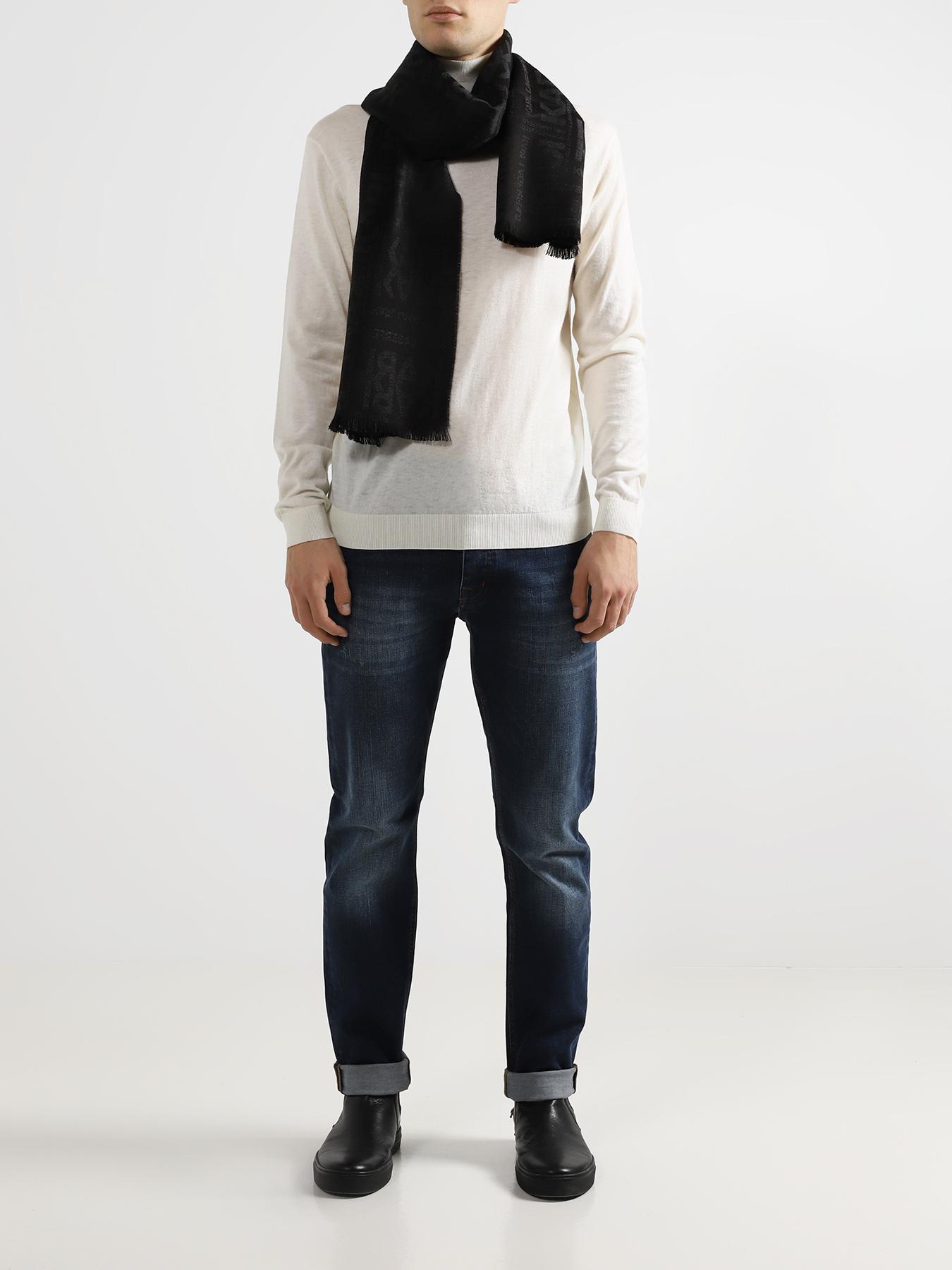 Шарф Karl Lagerfeld Мужской шарф шарф mango violeta шарф