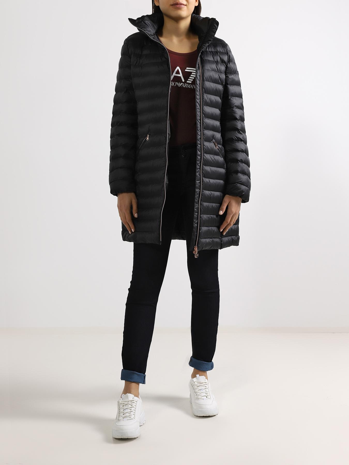 EA7 Emporio Armani Удлиненная куртка 352512-041