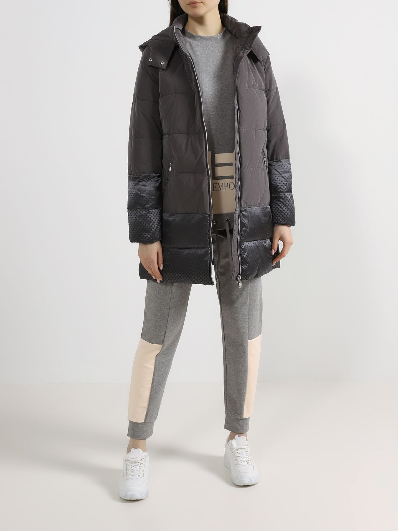EA7 Emporio Armani Удлиненная куртка фото