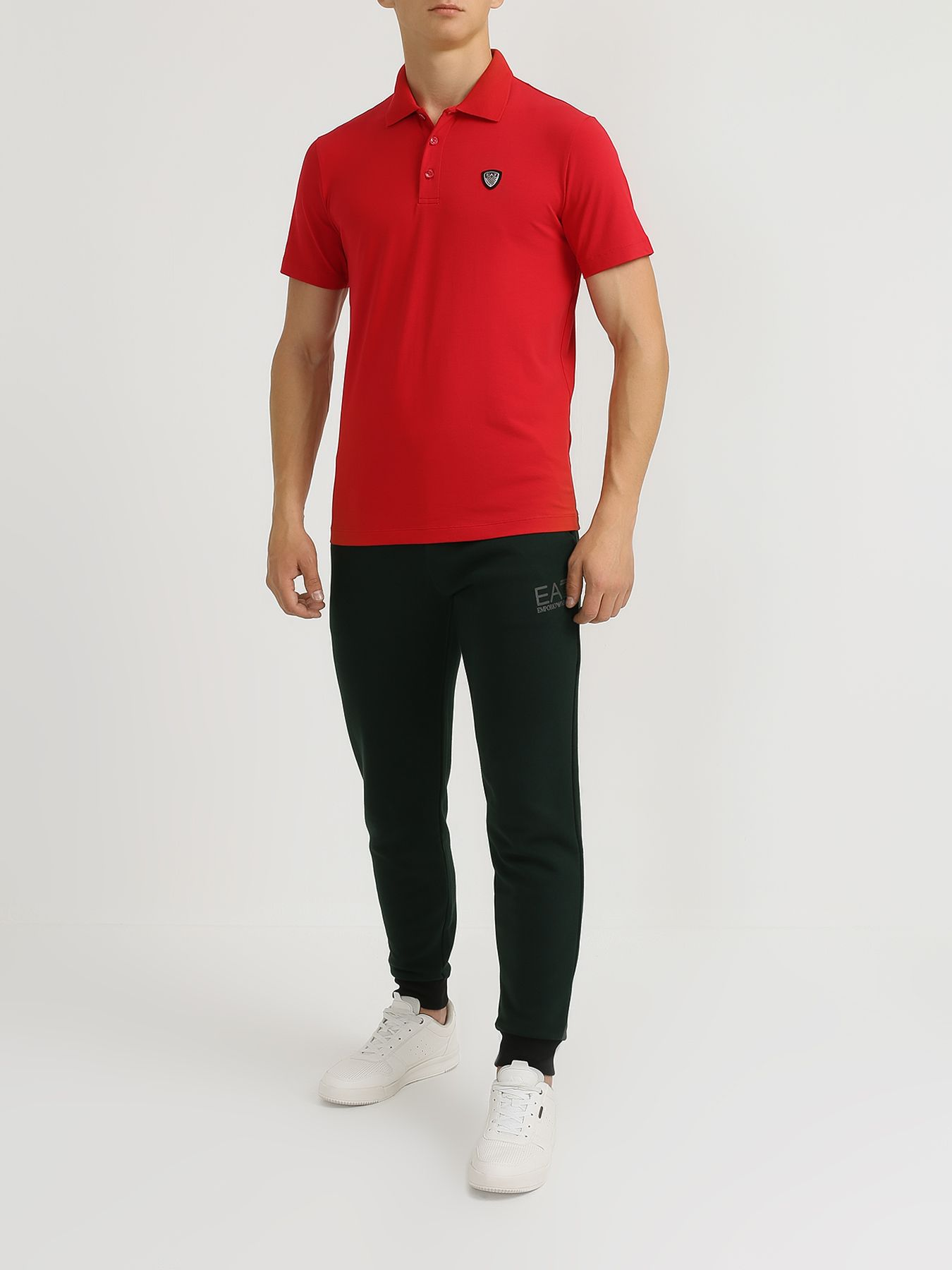 Рубашка поло EA7 Emporio Armani Поло