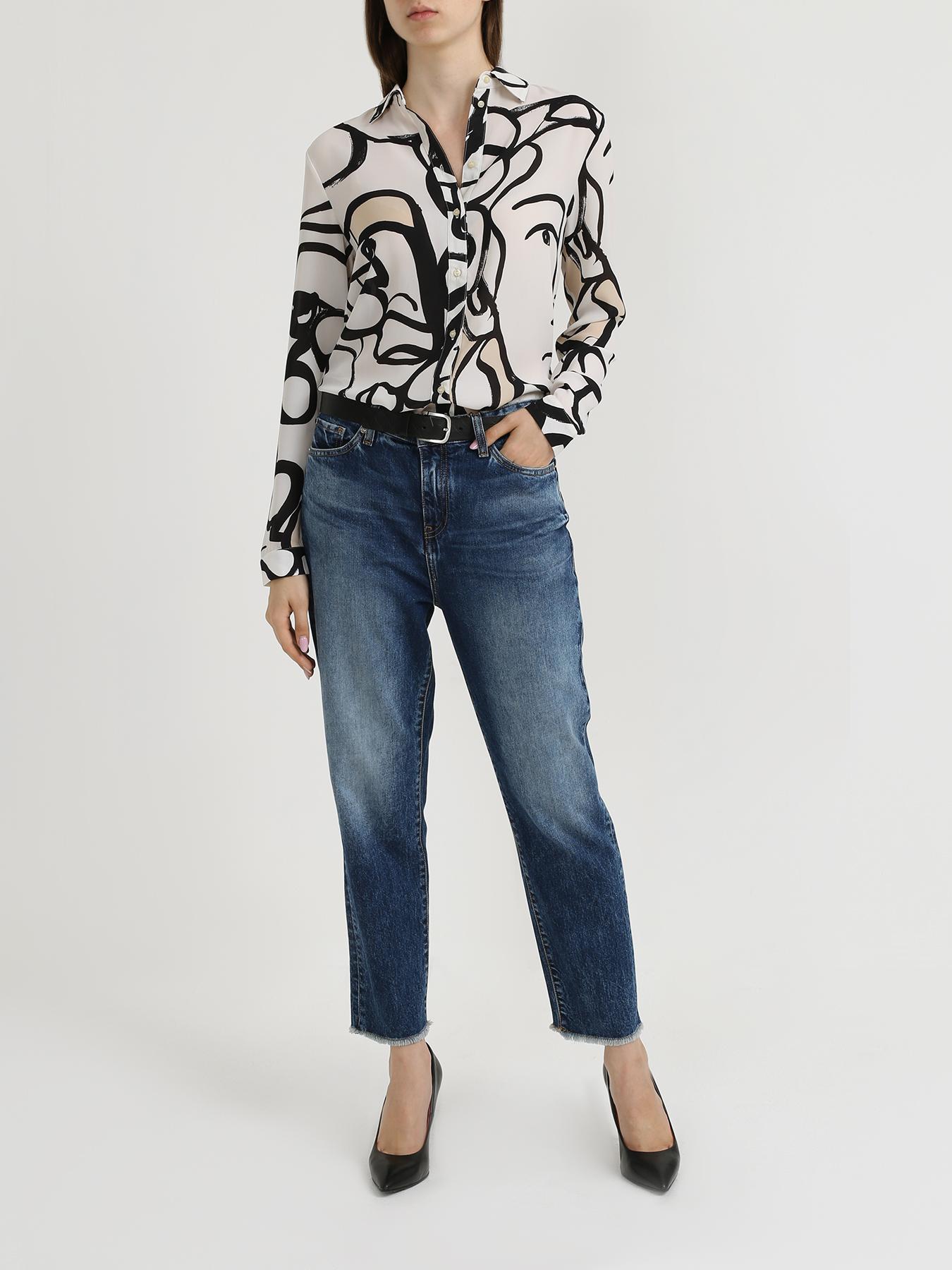 Armani Exchange Женская блузка с рисунками 353109-044