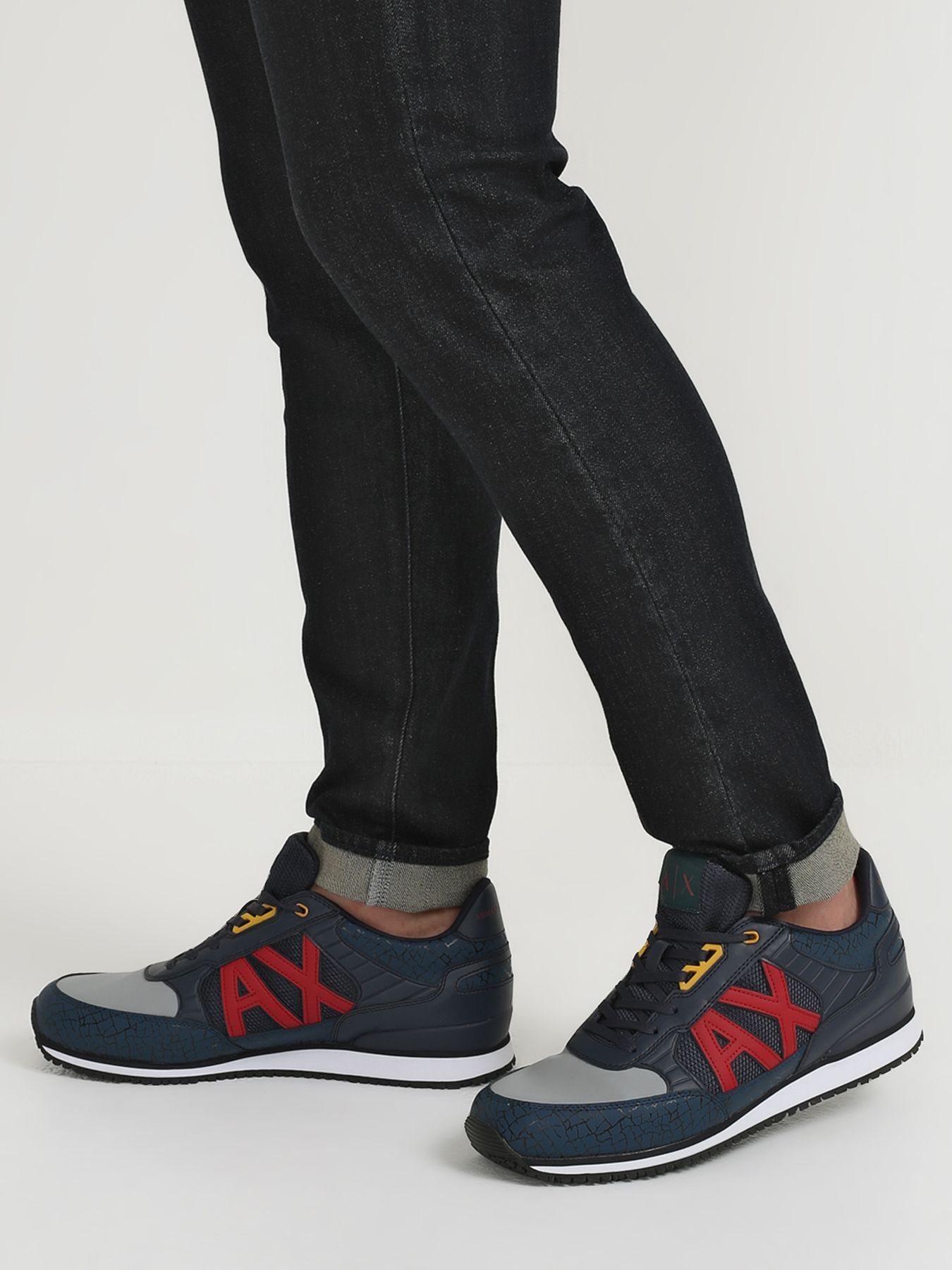 цена Кроссовки Armani Exchange Мужские кроссовки онлайн в 2017 году