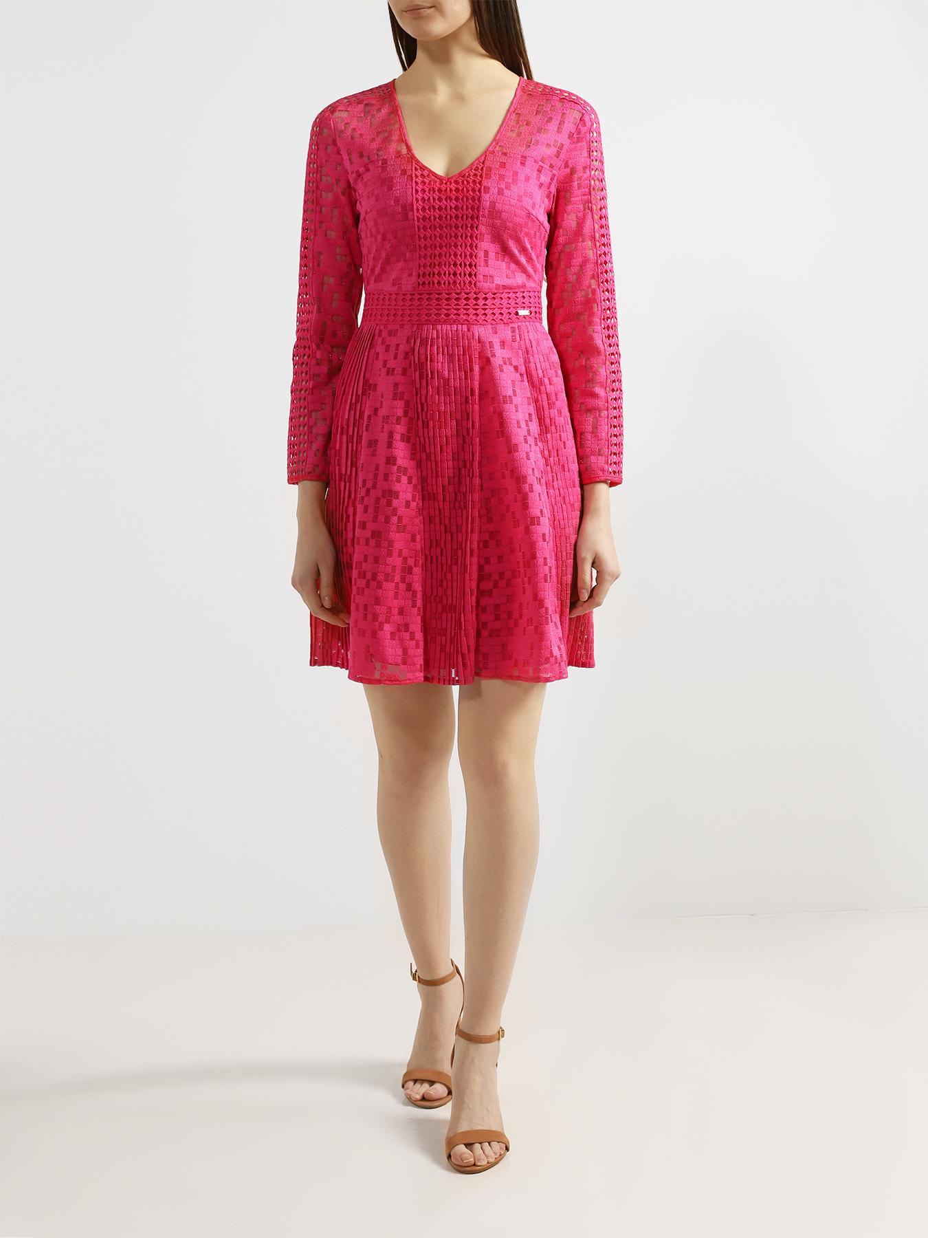 Платье Armani Exchange Женское платье-мини женское платье onfine leo 2015 onfine 2015 cool