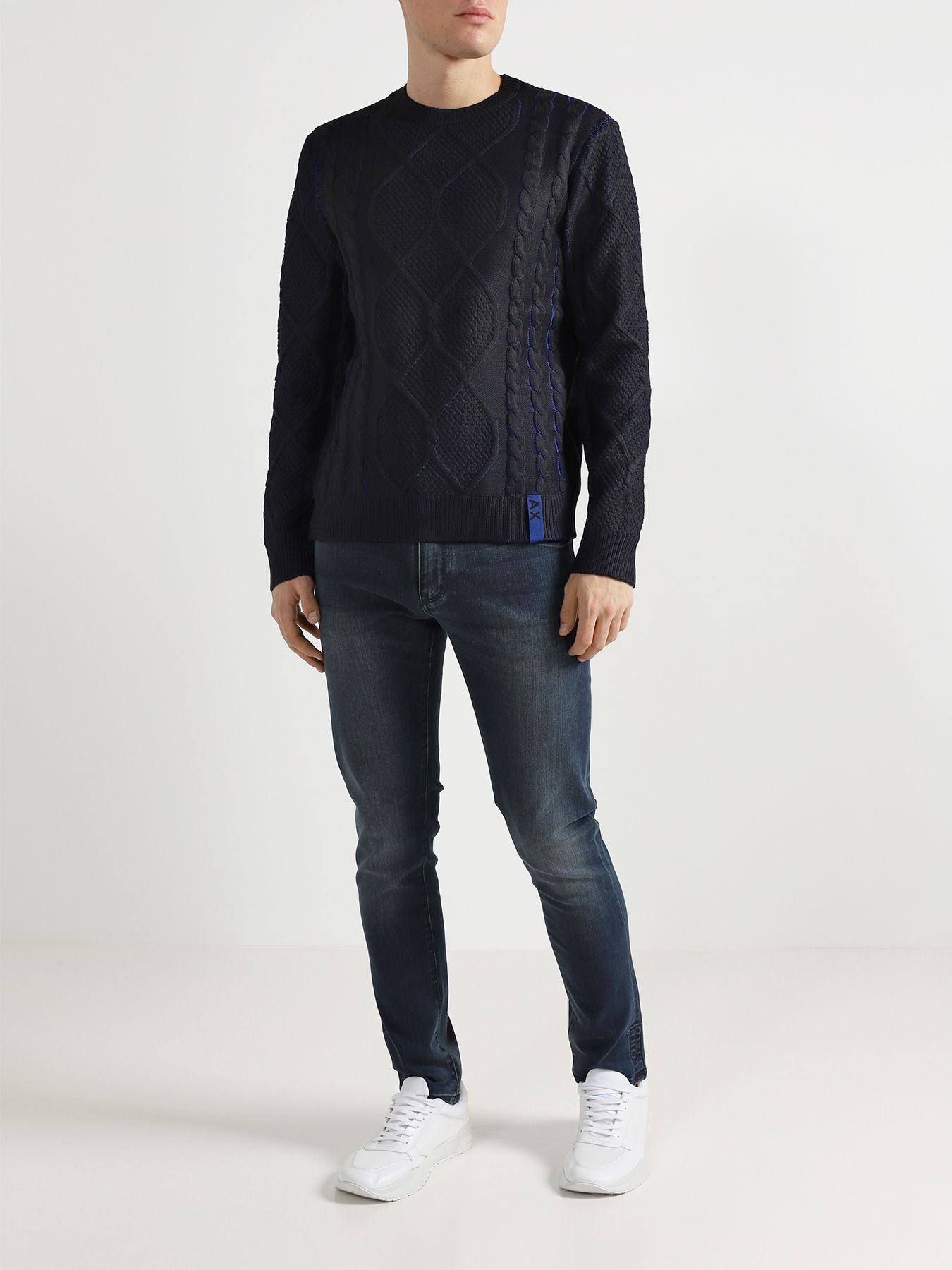 Джемпер Armani Exchange Мужской свитер
