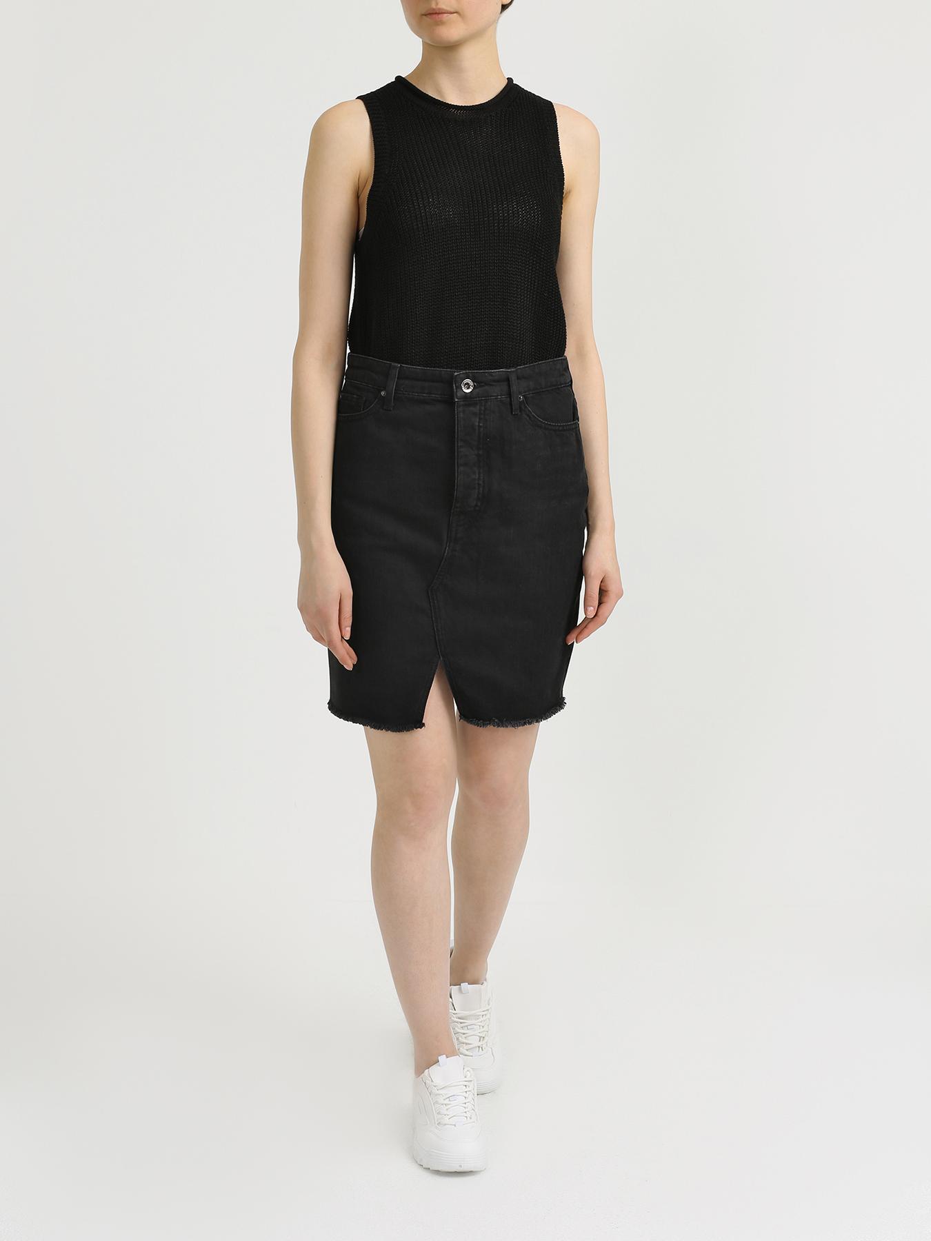 Юбка Armani Exchange Джинсовая юбка grlfrnd джинсовая юбка