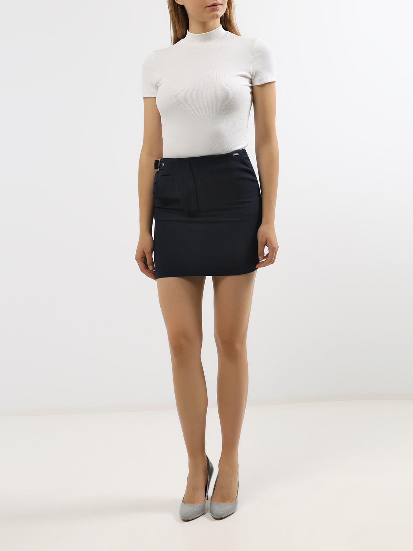 Фото - Юбка Armani Exchange Узкая юбка-мини gold case мини юбка