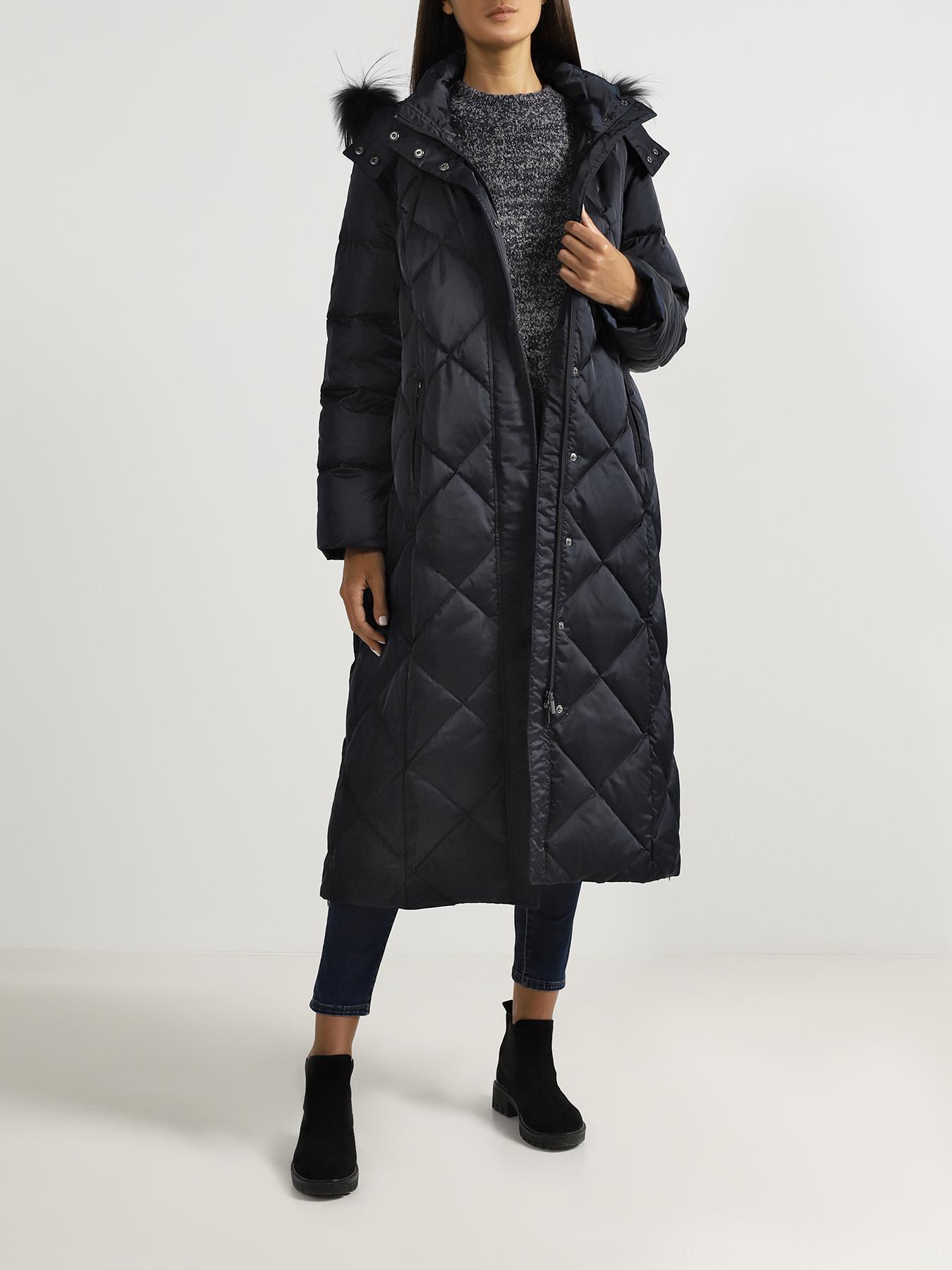 Пальто Persona by Marina Rinaldi Удлиненная куртка цена 2017