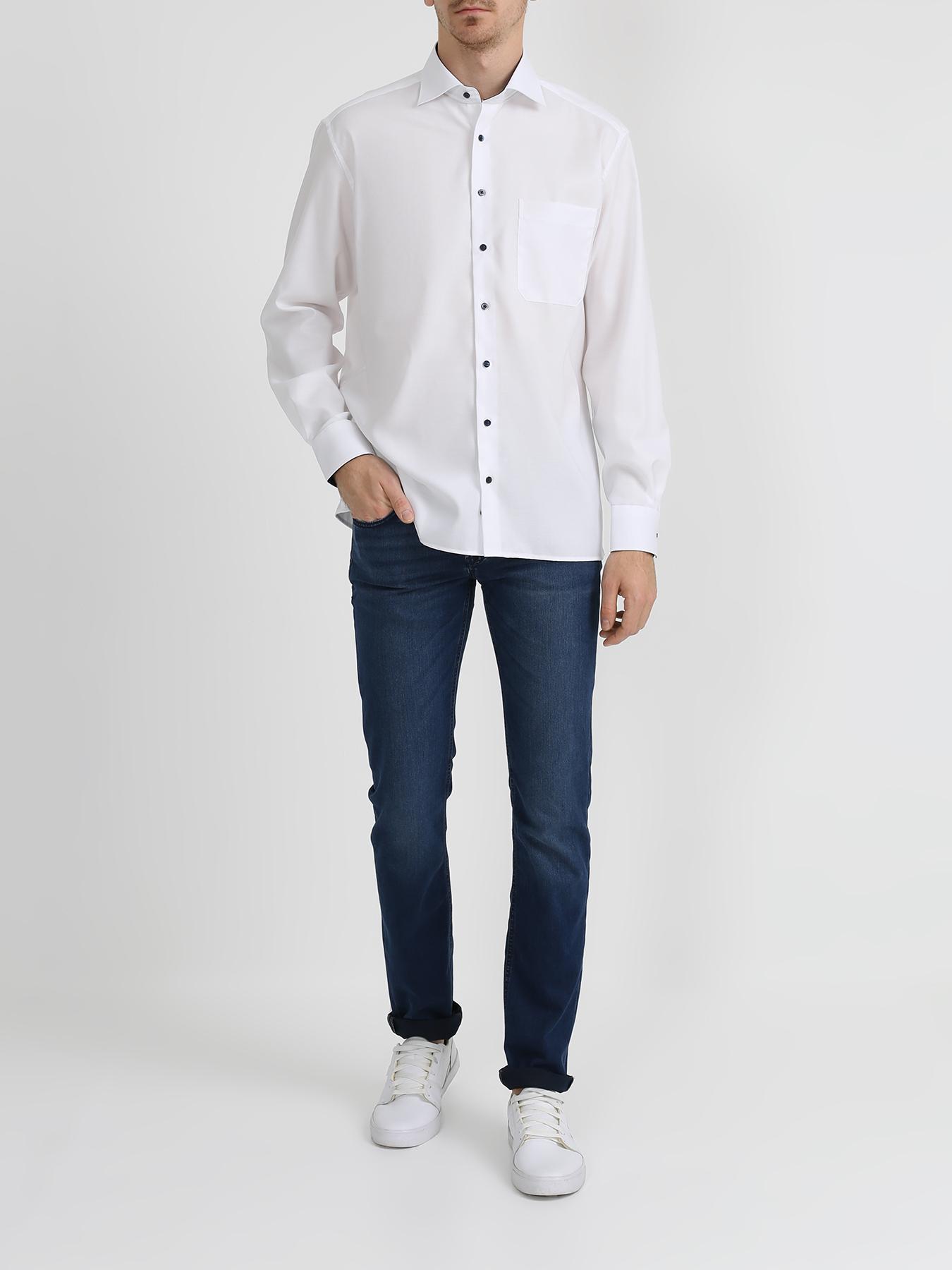 Фото - Рубашка Eterna Рубашка с нагрудным карманом рубашка lime рубашка с карманом