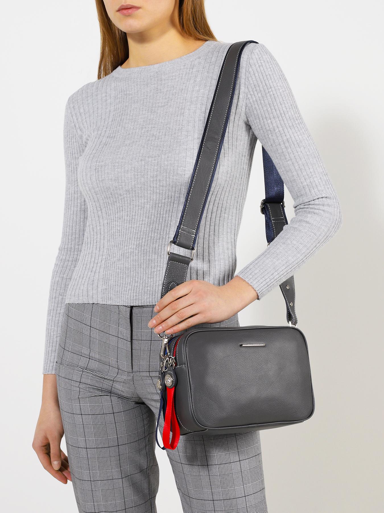 Фото - Сумка Alessandro Manzoni Женская сумка сумка женская 29 4e 001 8 цвет светло серый