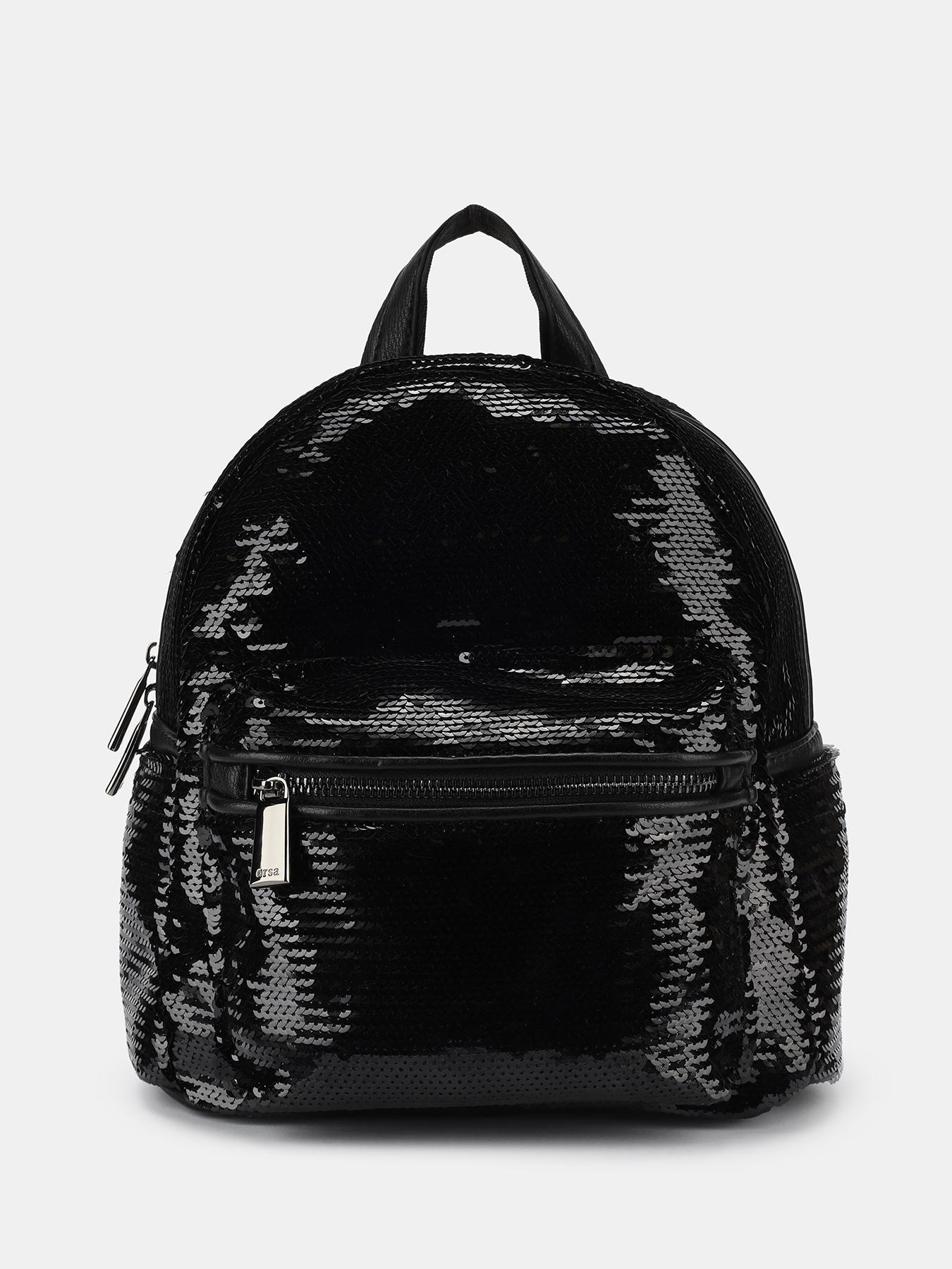 Рюкзаки ORSA Рюкзак с пайетками рюкзаки orsa женский рюкзак