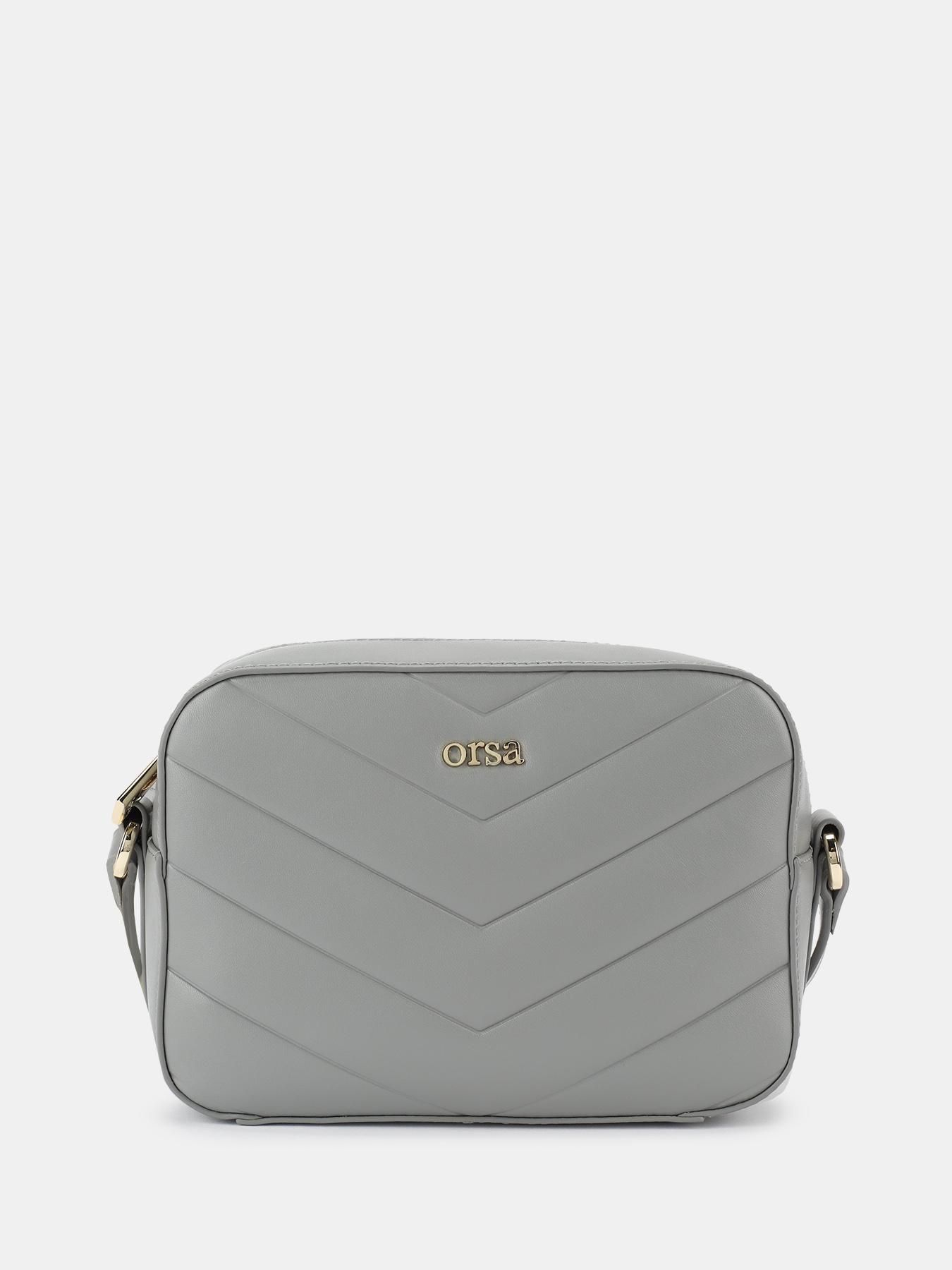 Фото - Сумки через плечо ORSA Женская сумка женская сумка grey 24645554