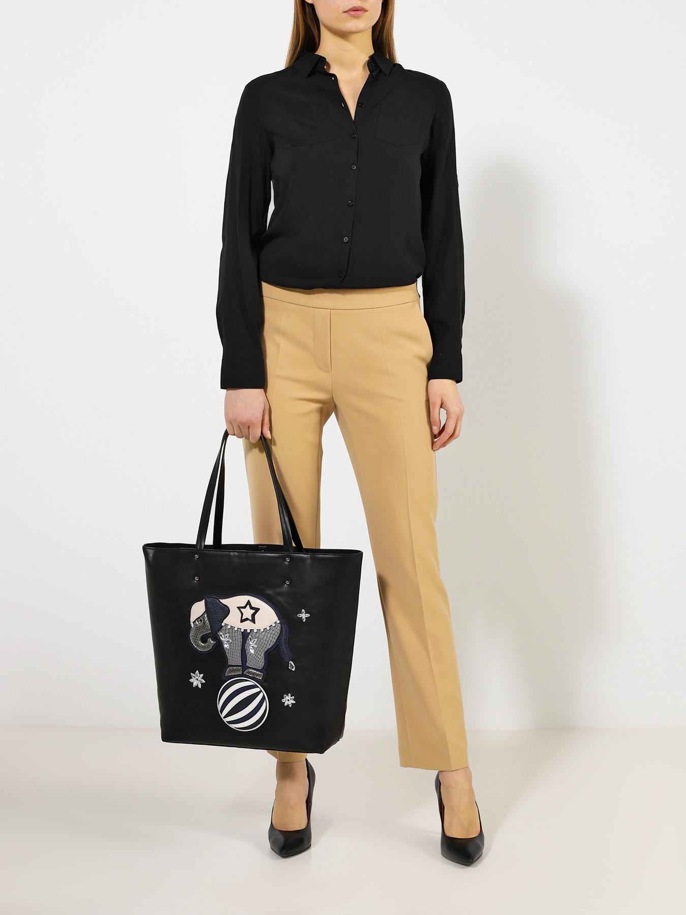 Фото - Сумка ORSA Женская сумка сумка женская 29 4e 001 8 цвет светло серый
