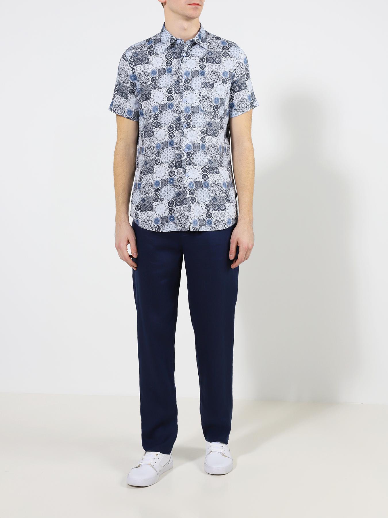 Alessandro Manzoni Jeans Мужская рубашка фото