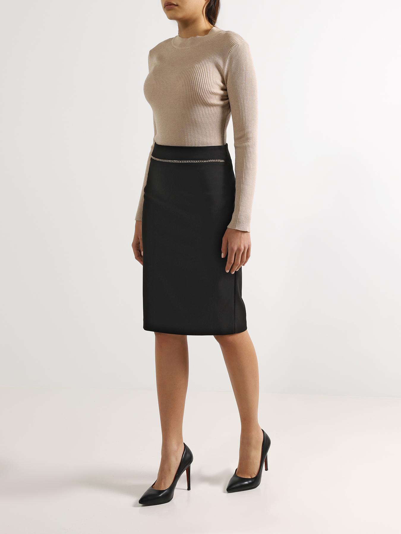 Юбка Rinascimento Зауженная юбка юбка rinascimento юбка