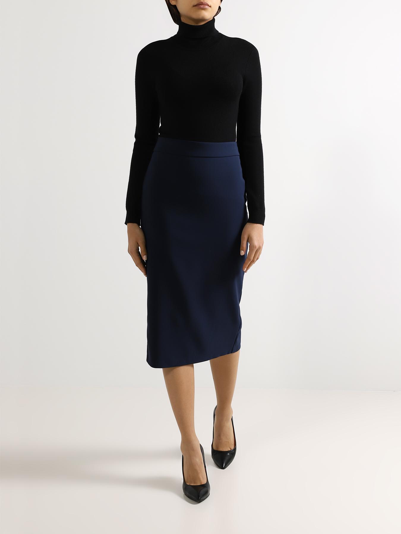 Юбка Rinascimento Однотонная юбка юбка rinascimento юбка