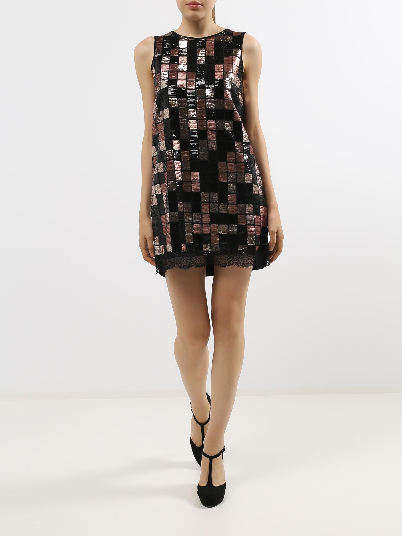 Платье Rinascimento с пайетками