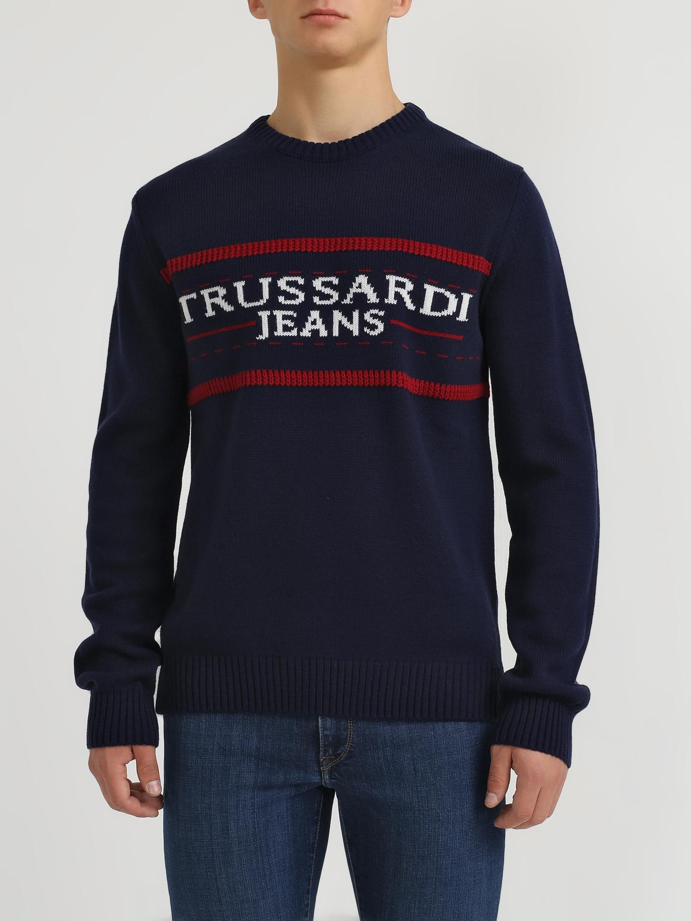 Trussardi Jeans Мужской свитер
