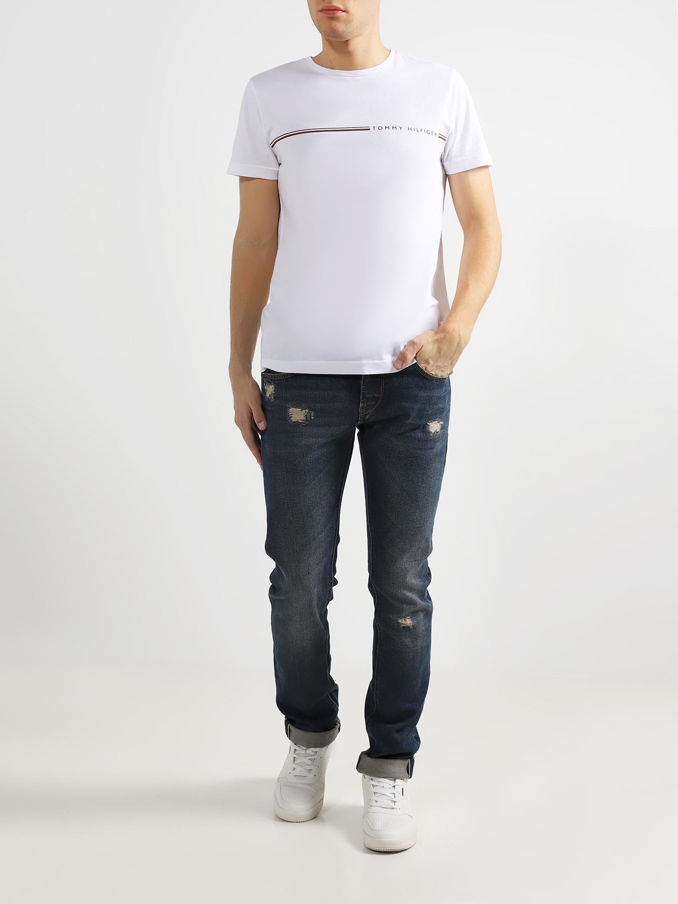 Брюки Baldessarini Зауженные джинсы джинсы galvanni джинсы зауженные