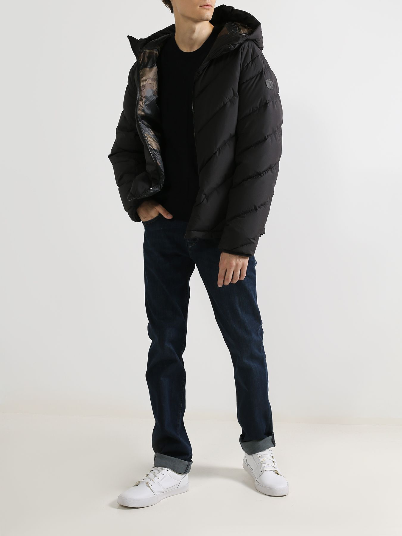 Фото - Куртка Trussardi Jeans Двусторонняя куртка куртка trussardi jeans пуховик