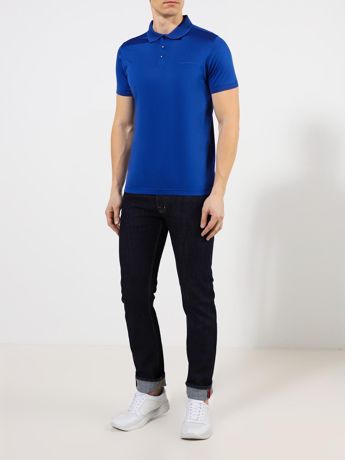 "Рубашка с воротом ""поло"" Karl Lagerfeld Поло"