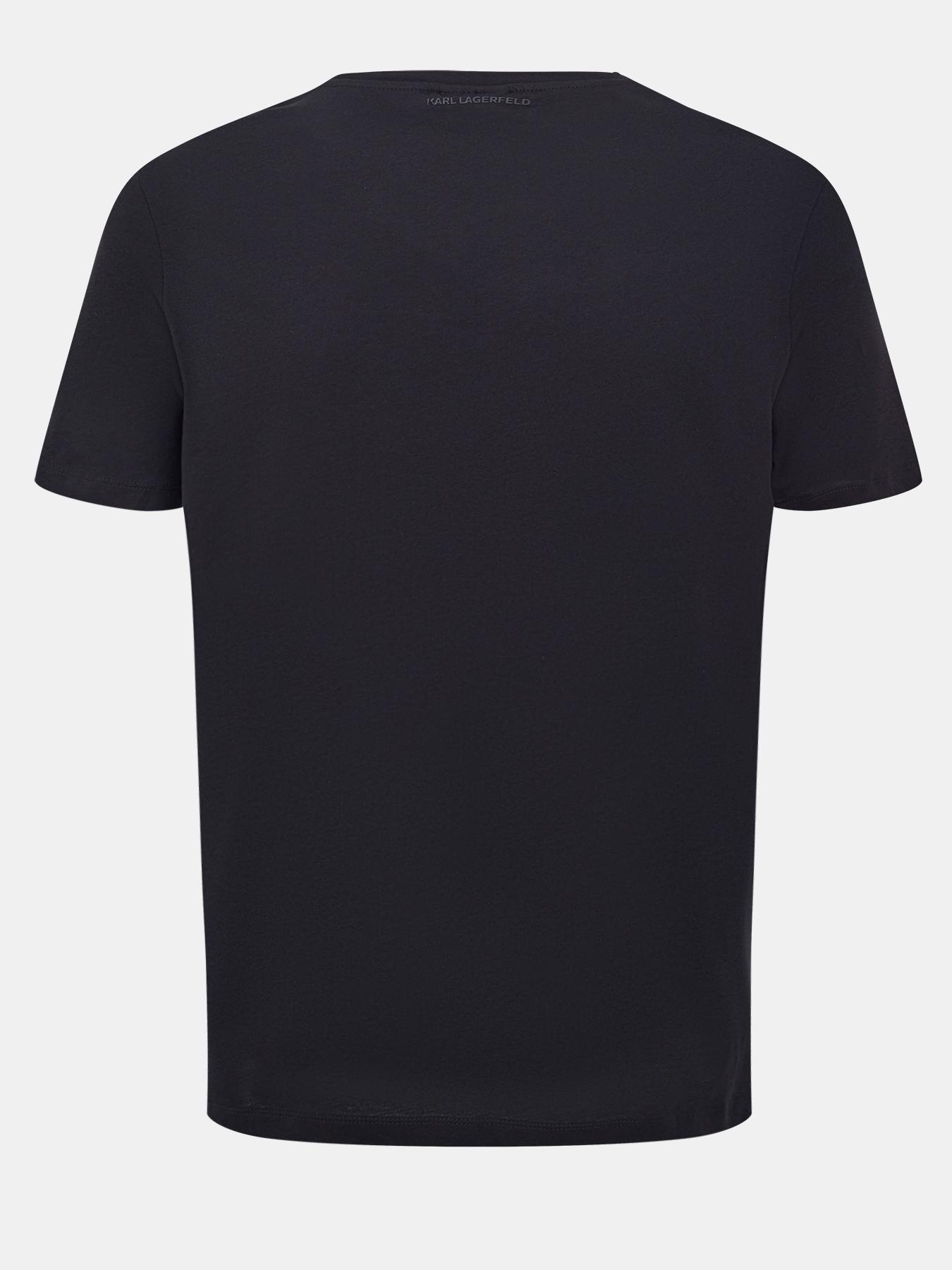 Фуфайка (футболка) Karl Lagerfeld Футболка karl lagerfeld vintage браслет из жемчуга