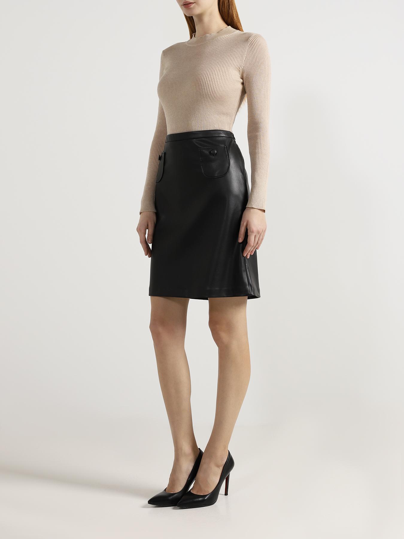 Korpo Two Однотонная юбка от Korpo Two