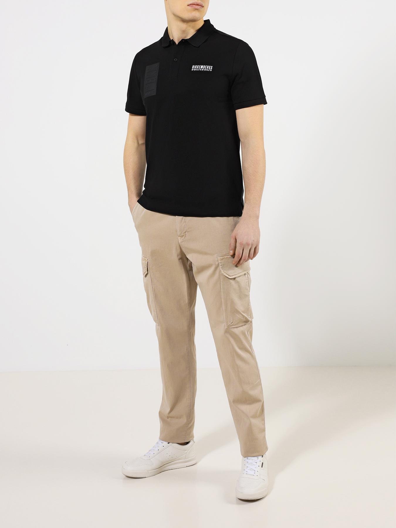 """Рубашка с воротом """"поло"""" Bikkembergs Поло"""