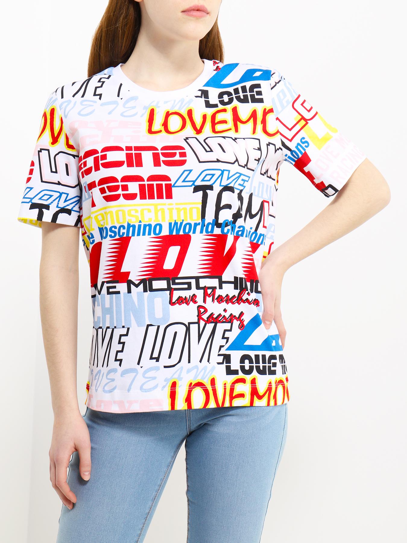 moschino футболка Футболки Love Moschino Футболка