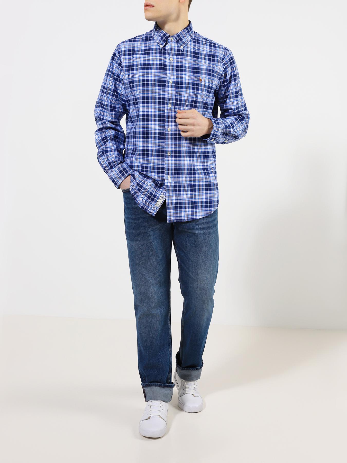 Рубашка Polo Ralph Lauren Мужская рубашка рубашка polo ralph lauren polo ralph lauren po006ewfngs0