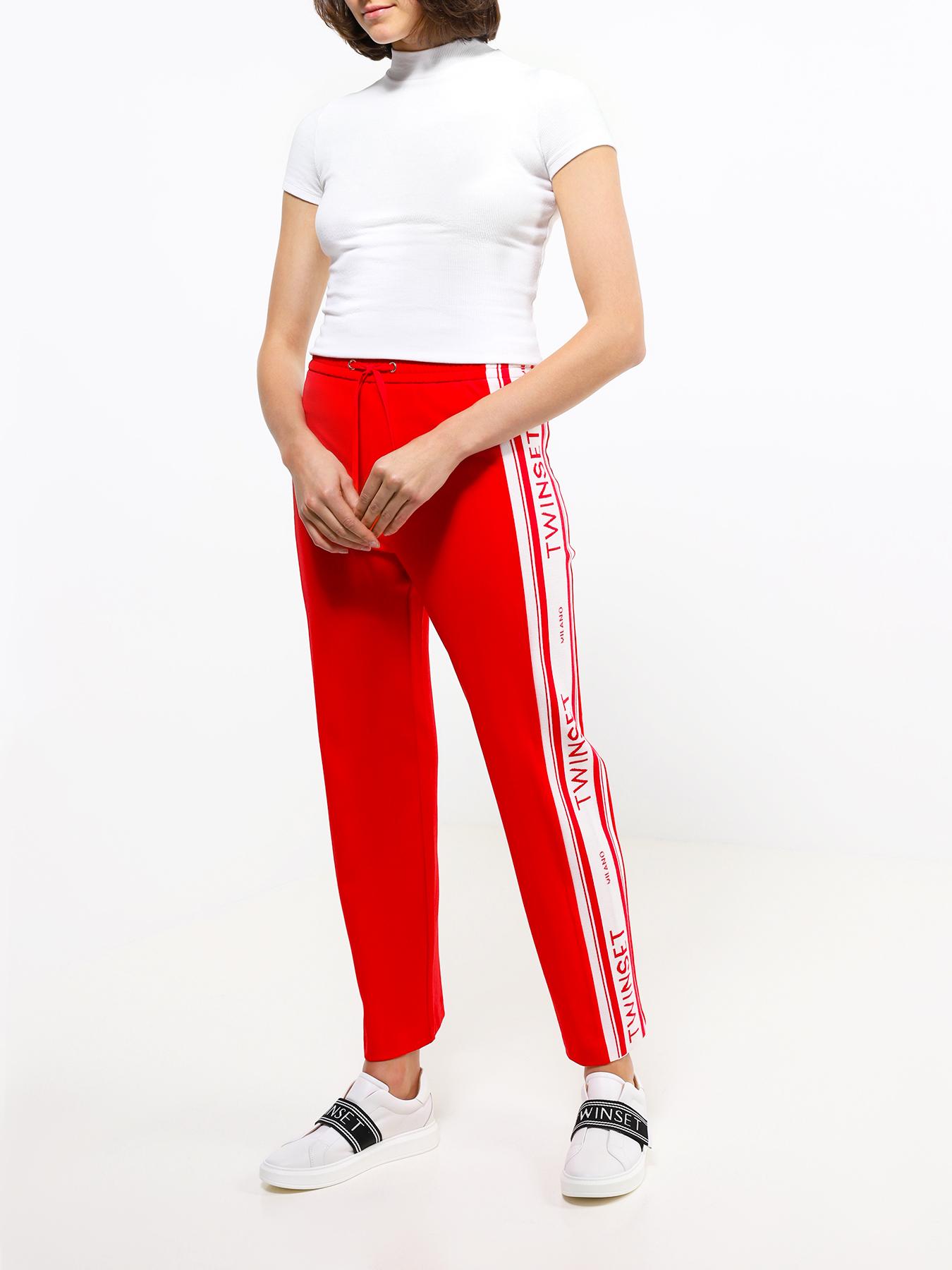 Брюки TWINSET Спортивные брюки брюки спортивные columbia columbia anytime outdoor boot cut pant