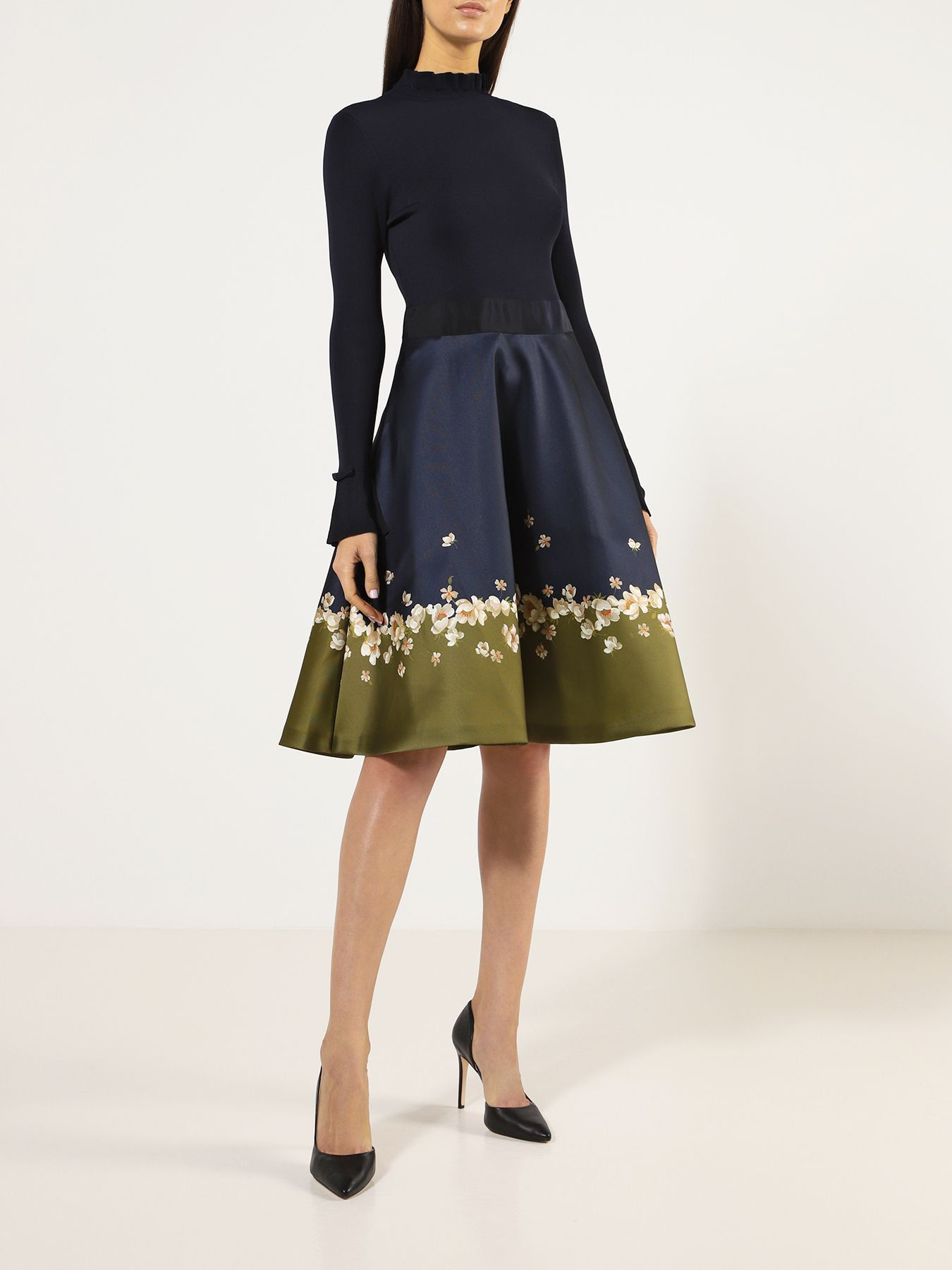 Платье Ted Baker Платье ботинки ted baker london ted baker london te019ambxsa9