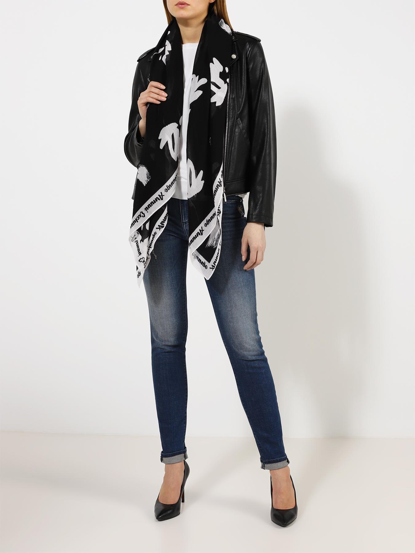 Платок Armani Exchange Женский платок платок женский vita pelle цвет синий k09p554428 размер универсальный