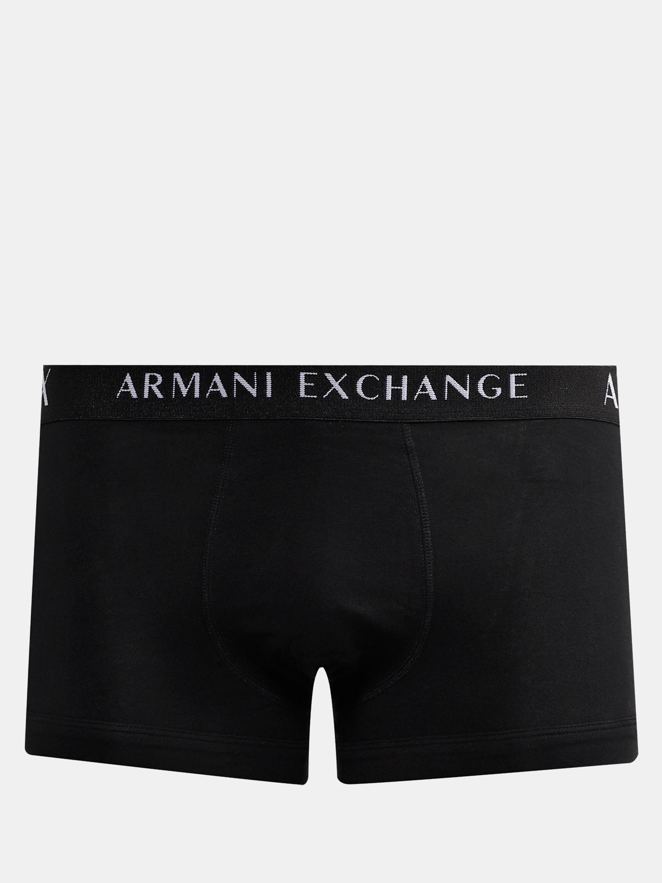 Трусы Armani Exchange Мужские боксеры (3 шт) купальник nabaiji плавки–боксеры мужские 500 stab allstel синие