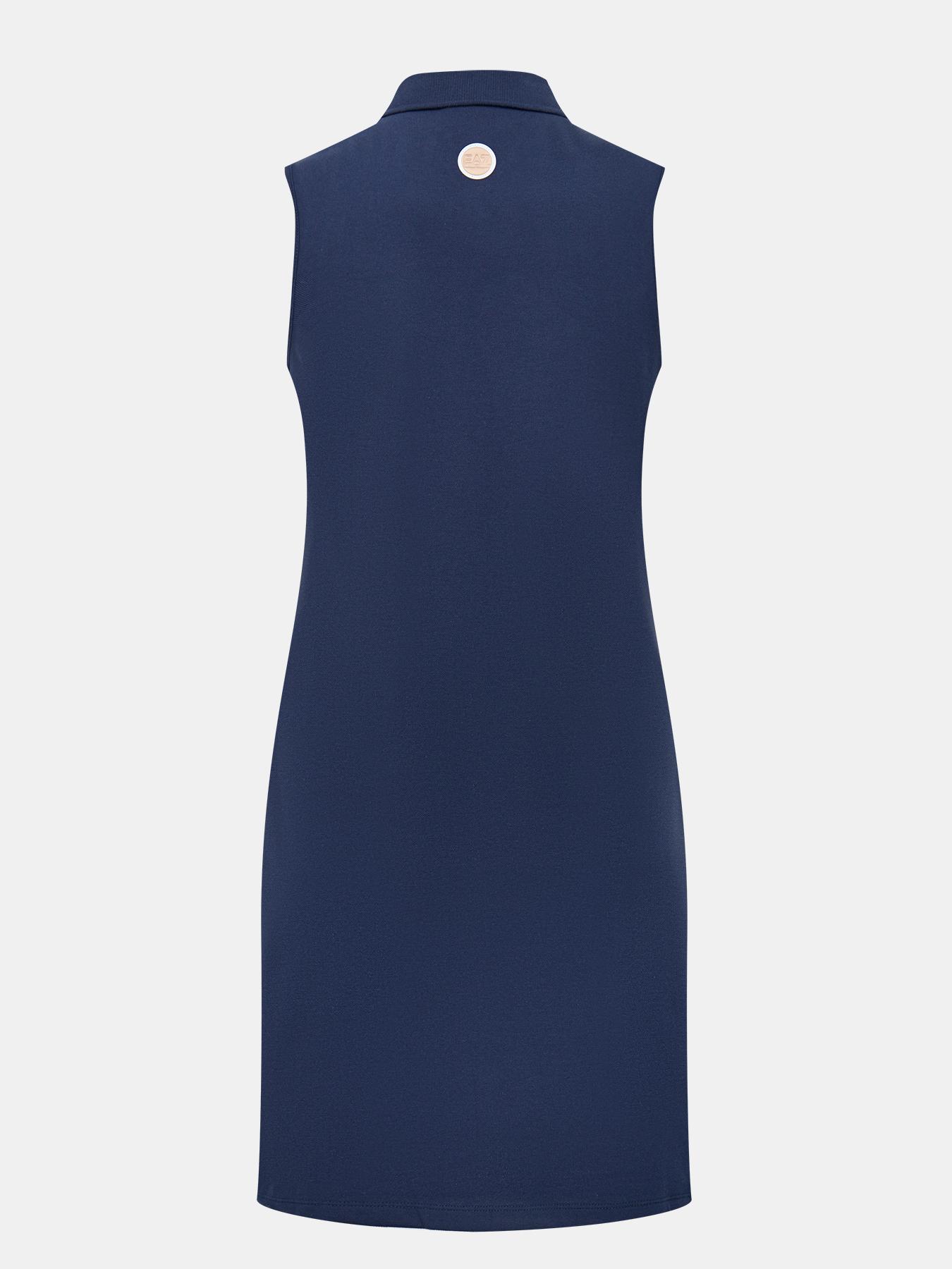 Платье EA7 Emporio Armani Платье легкое асимметричное платье emporio armani